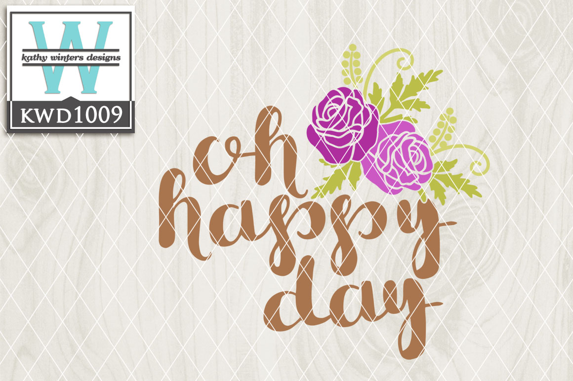 Oh Happy Day File KWD1009 example image 1