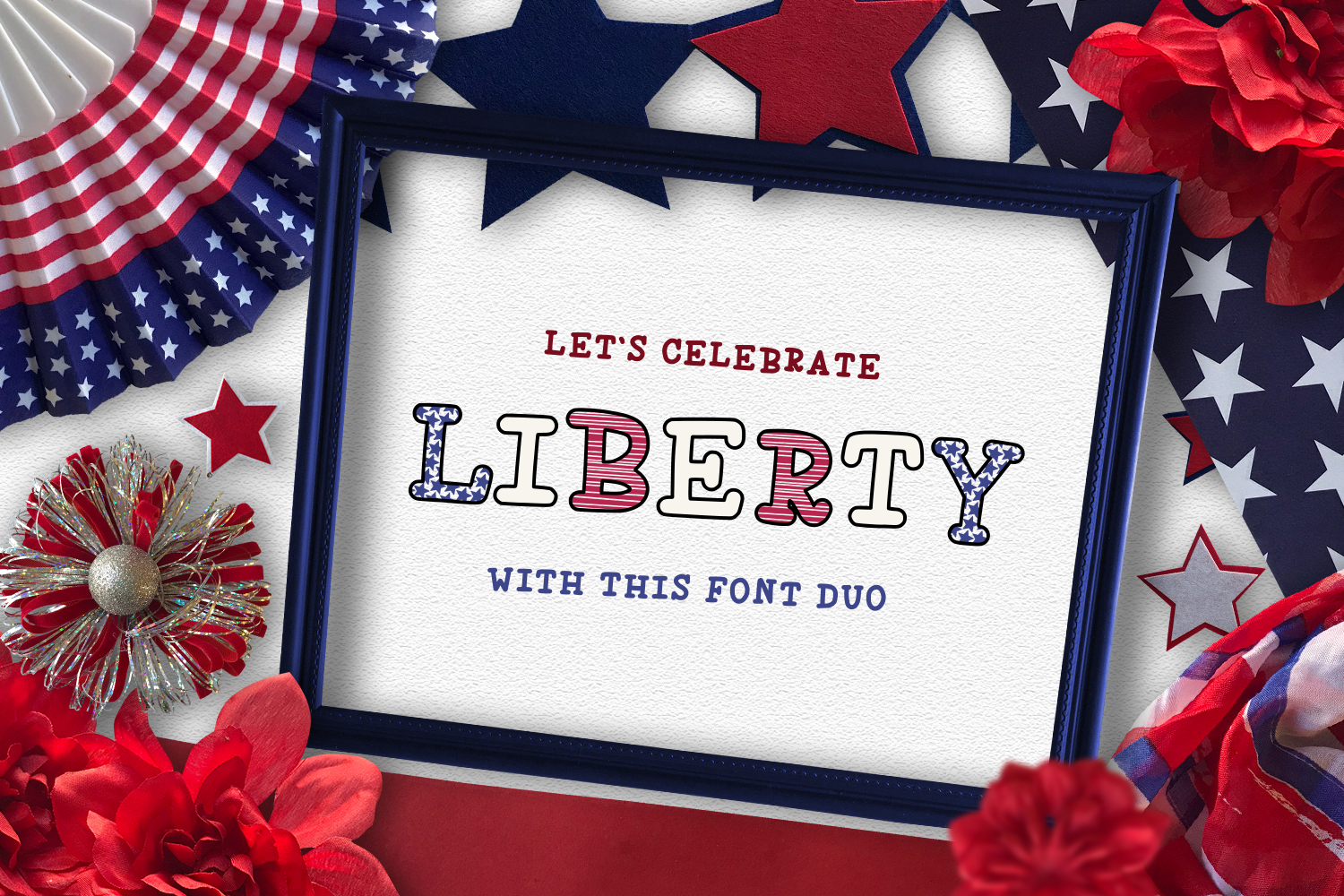 Liberty - Font Duo.  example image 1