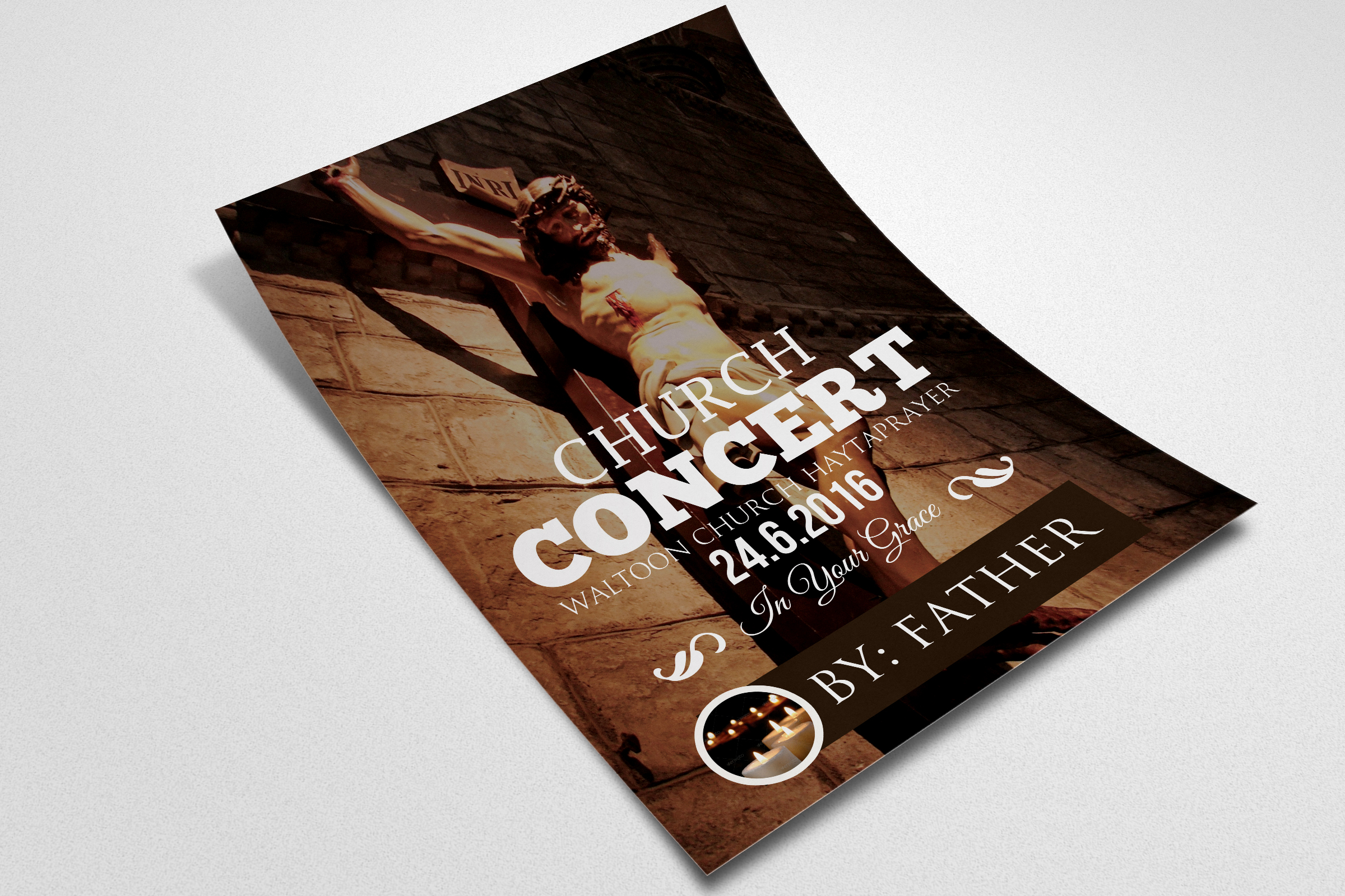Church Flyer Template example image 2