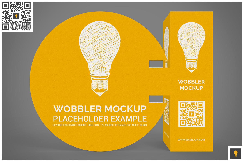 3D Wobbler Mockup example image 9