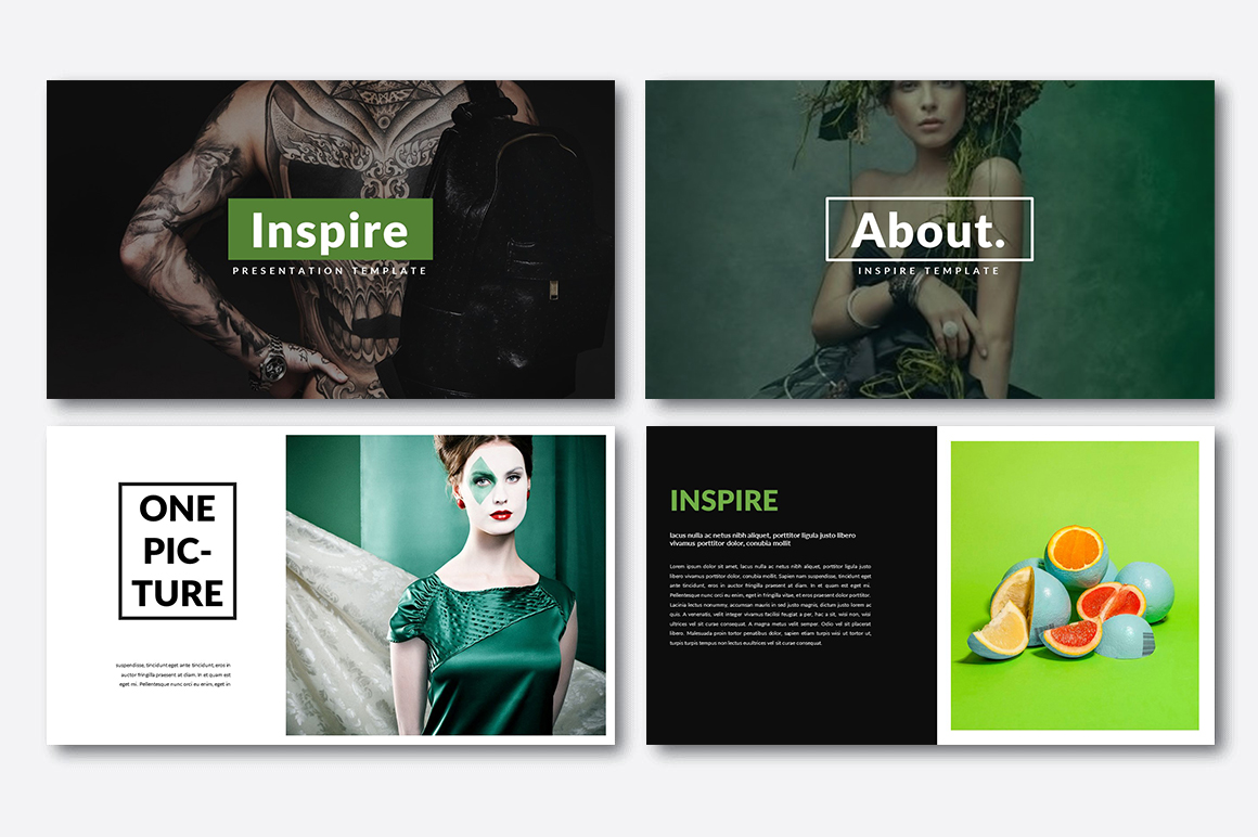 Inspire Creative Presentation example image 2