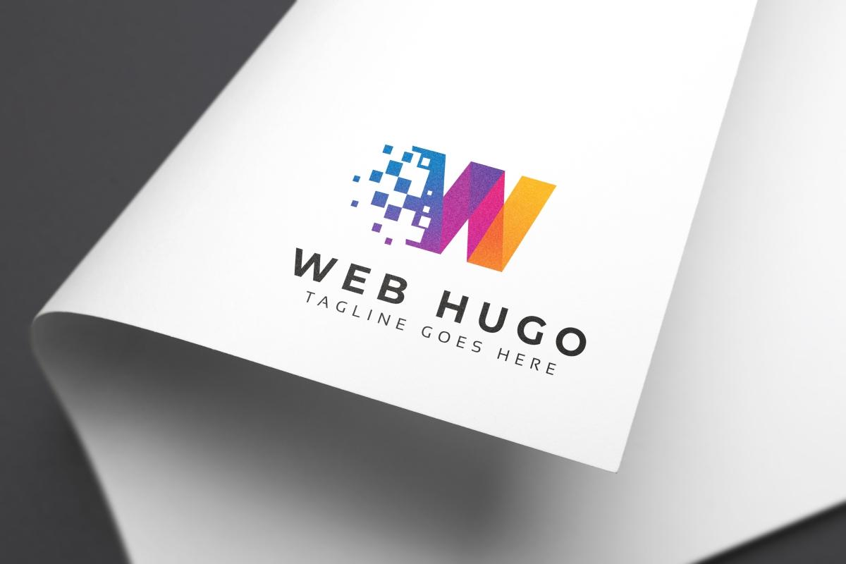 Web Hugo W Letter Logo example image 3
