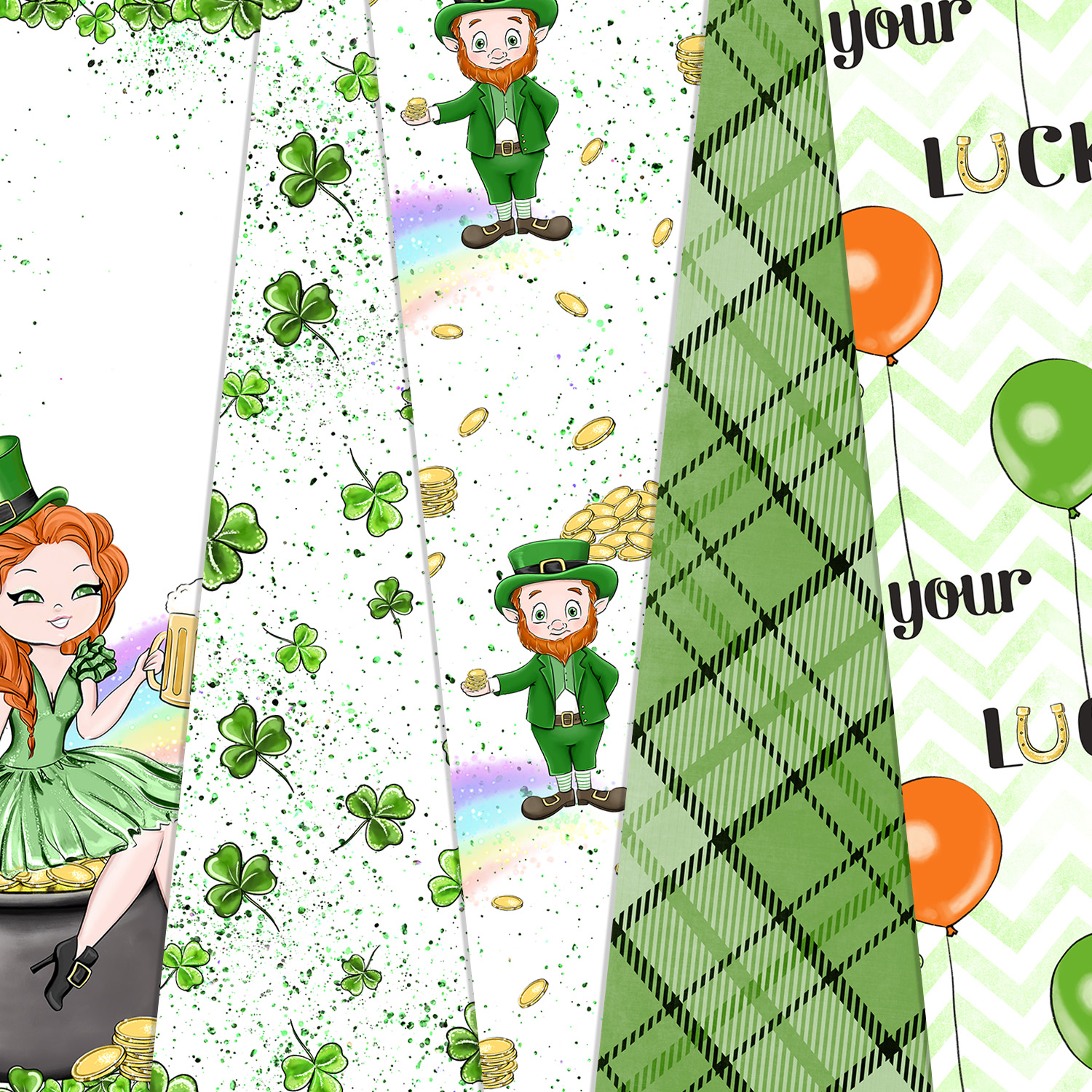 Its Your Lucky Day - Digital Pattern example image 2