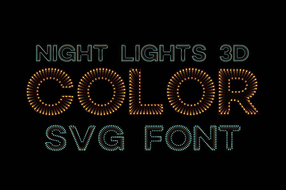 10 Color SVG Fonts 1 example image 7