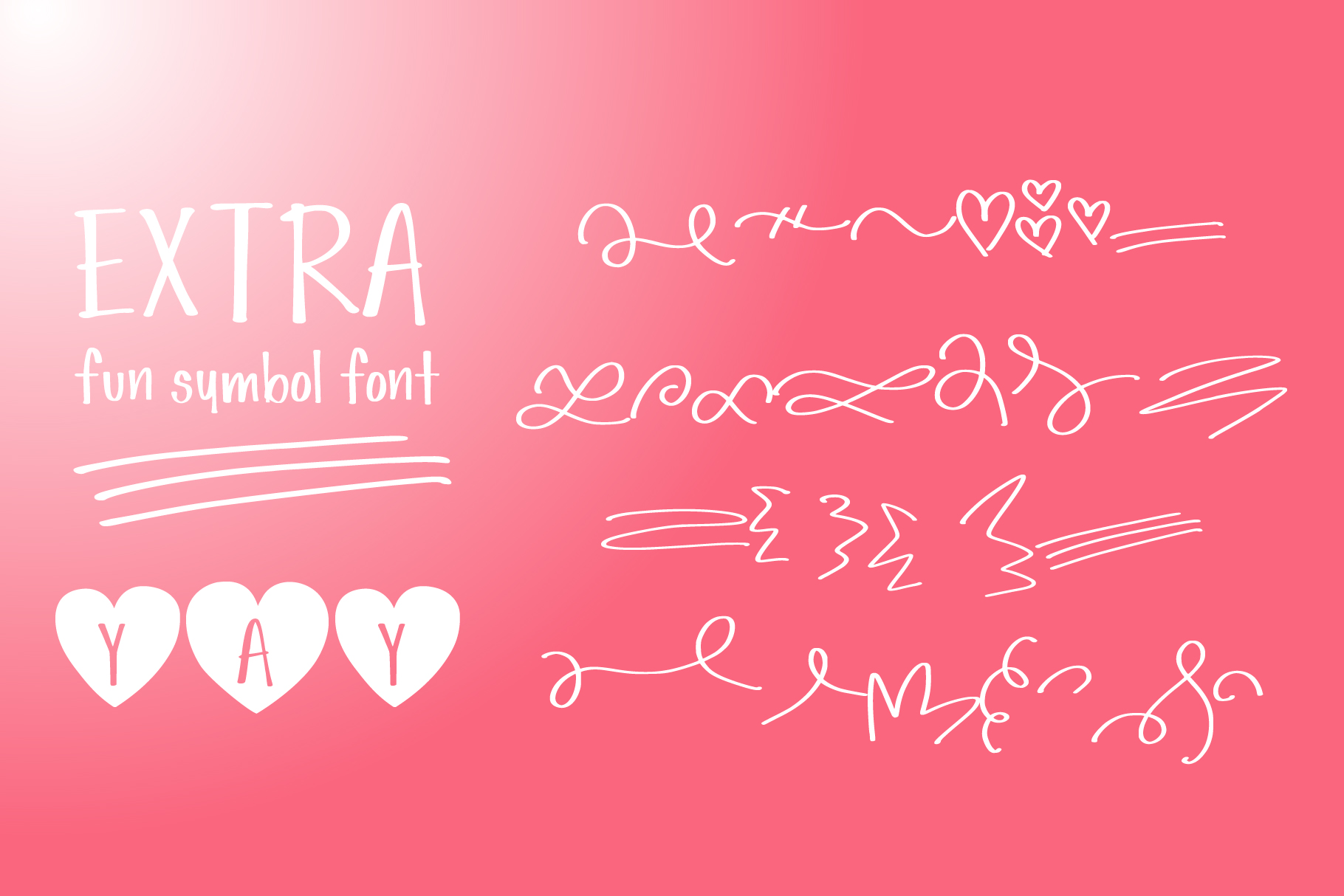 Simple Love Font example image 8