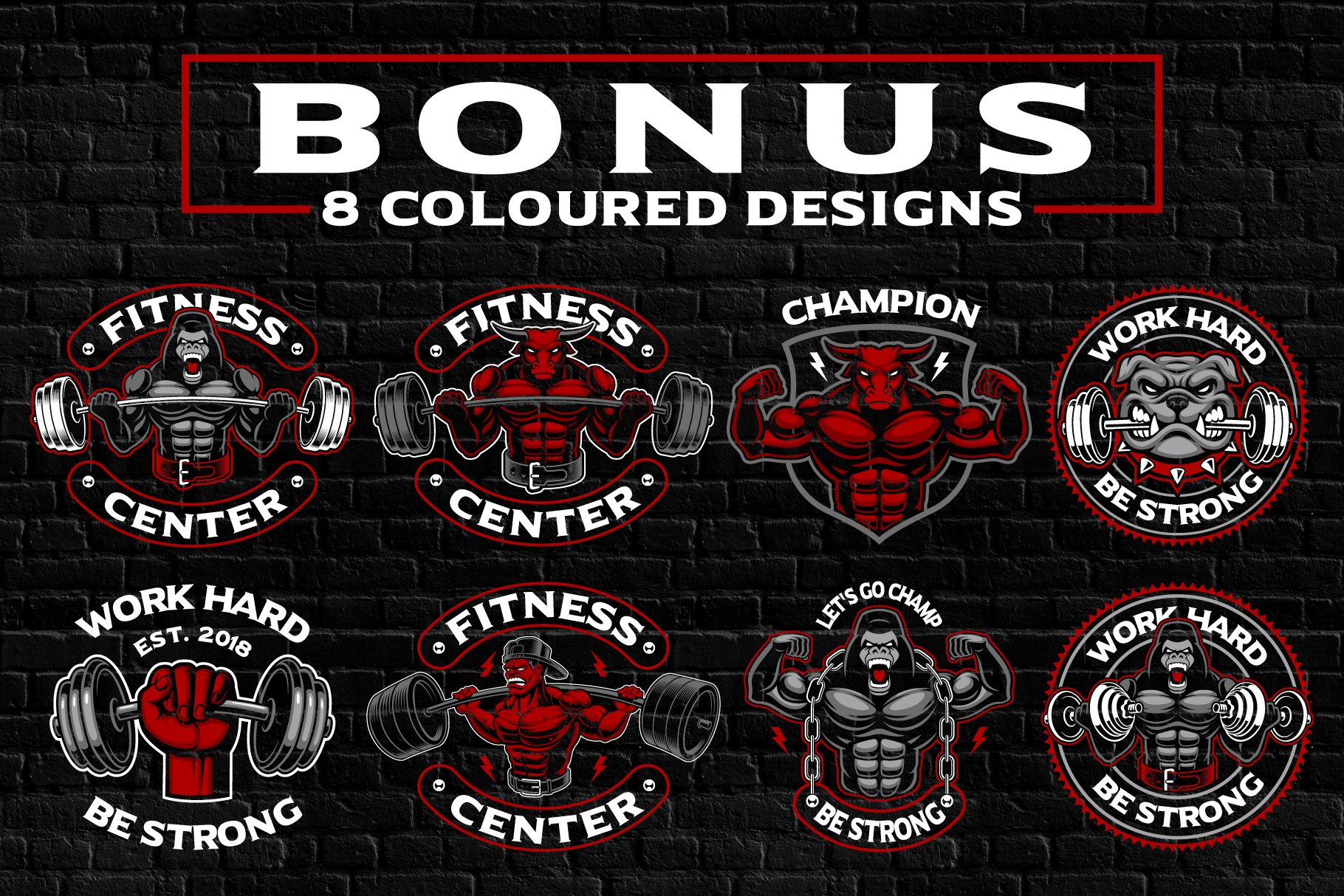 Fitness Designs Bundle example image 4