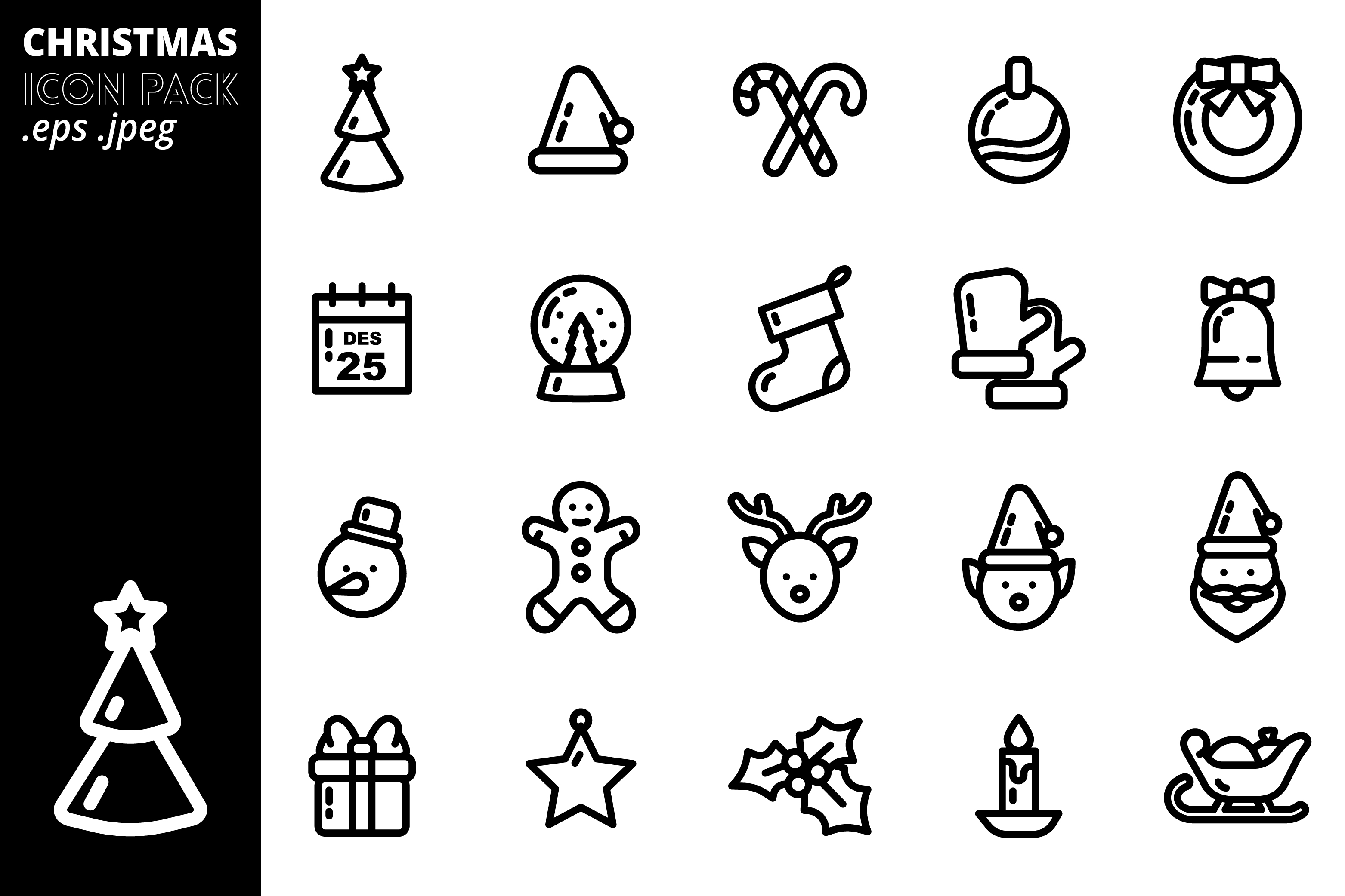 Christmas Icon Pack example image 2