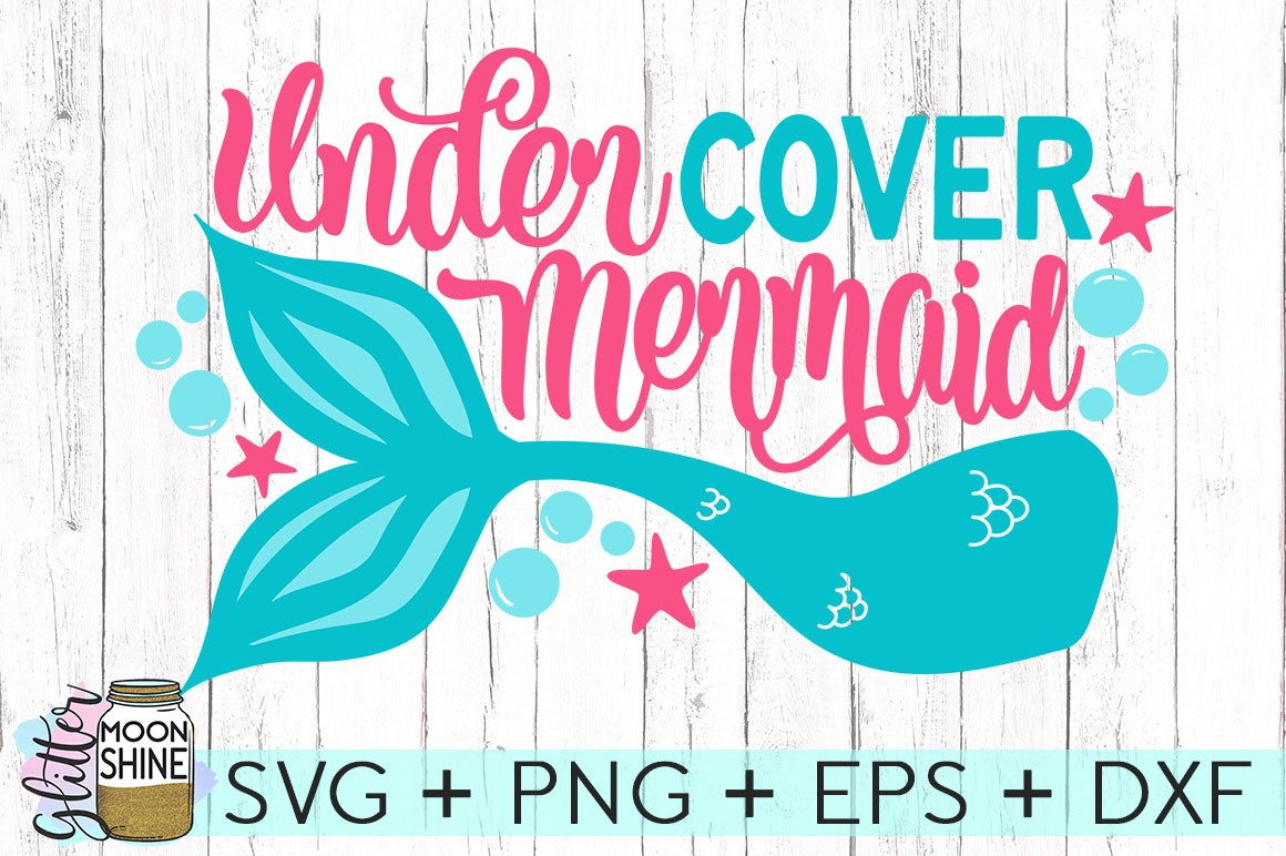 Big Mermaid Bundle of 14 SVG DXF PNG EPS Cutting Files example image 14