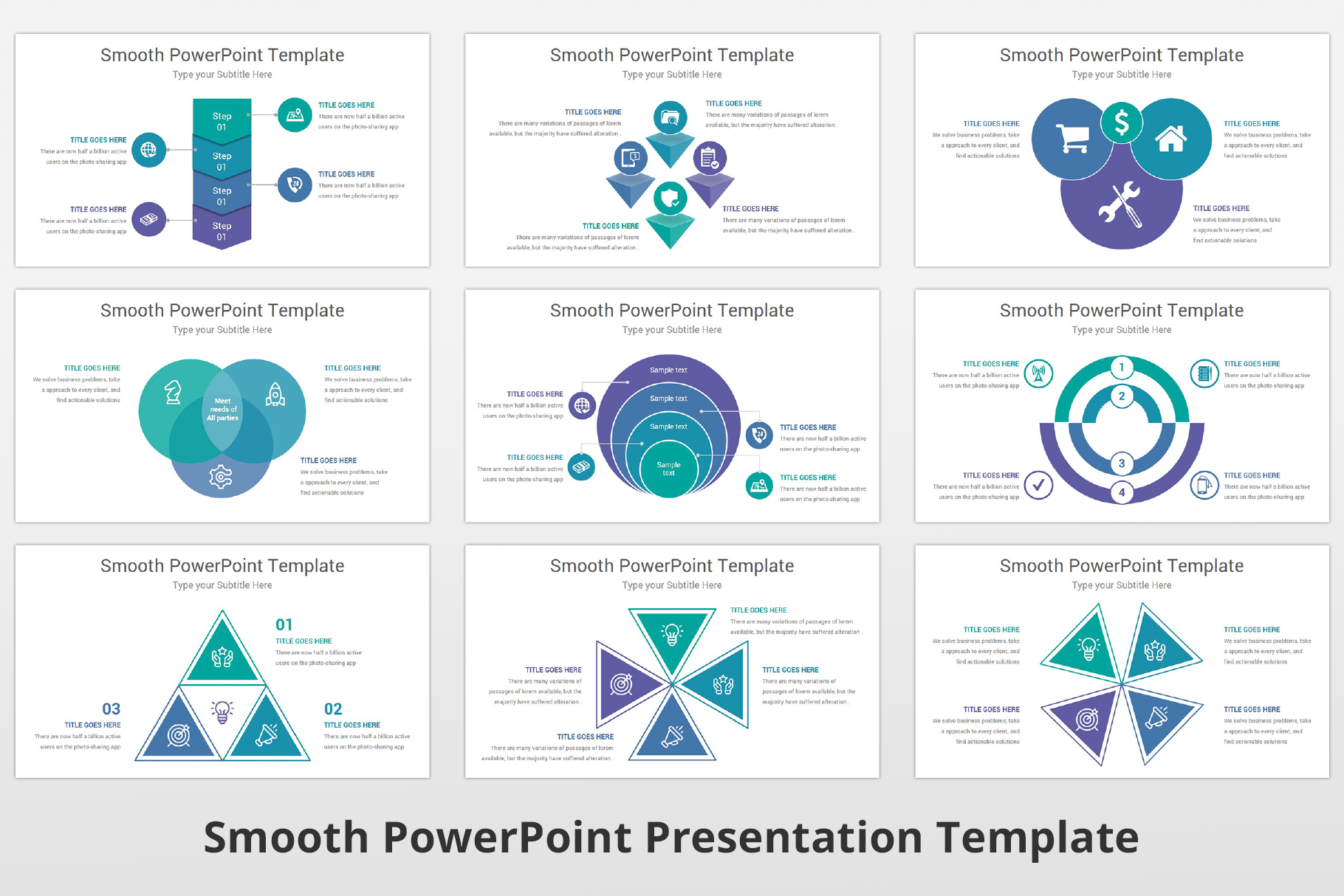 Smooth multipurpose PowerPoint Presentation Template example image 14