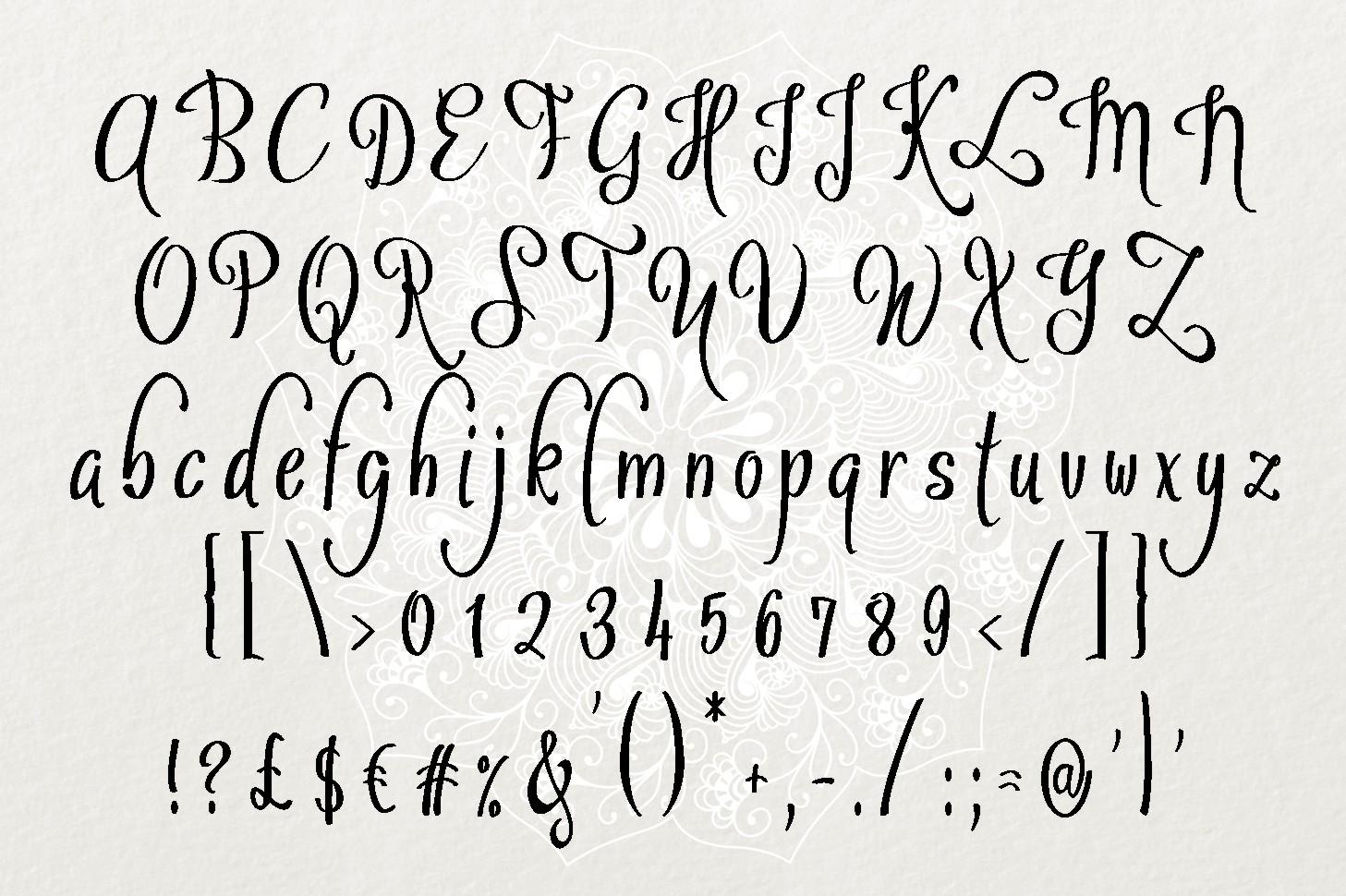 Sybelia Font example image 6