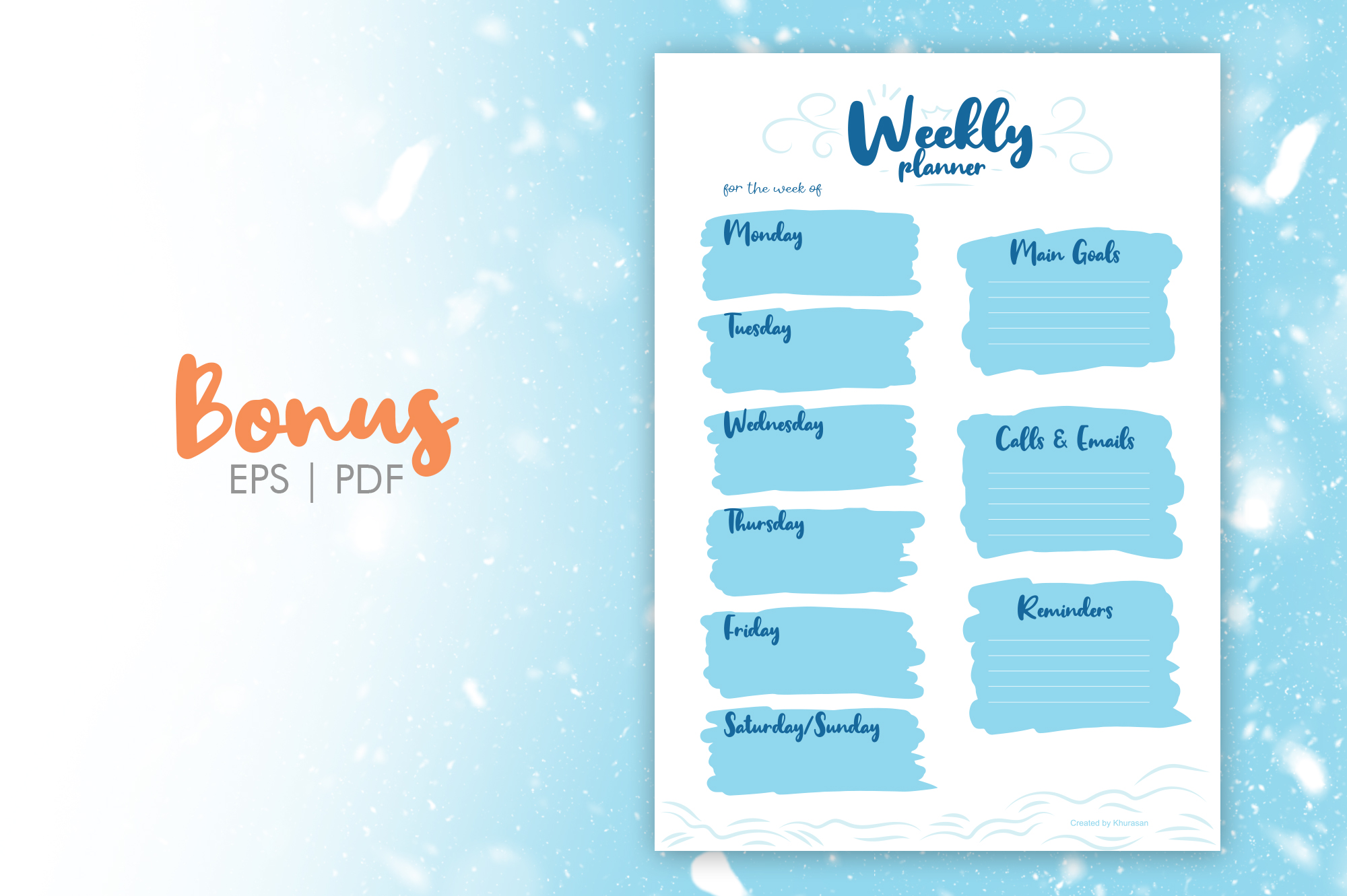 Winter Dream Trio Font example image 8