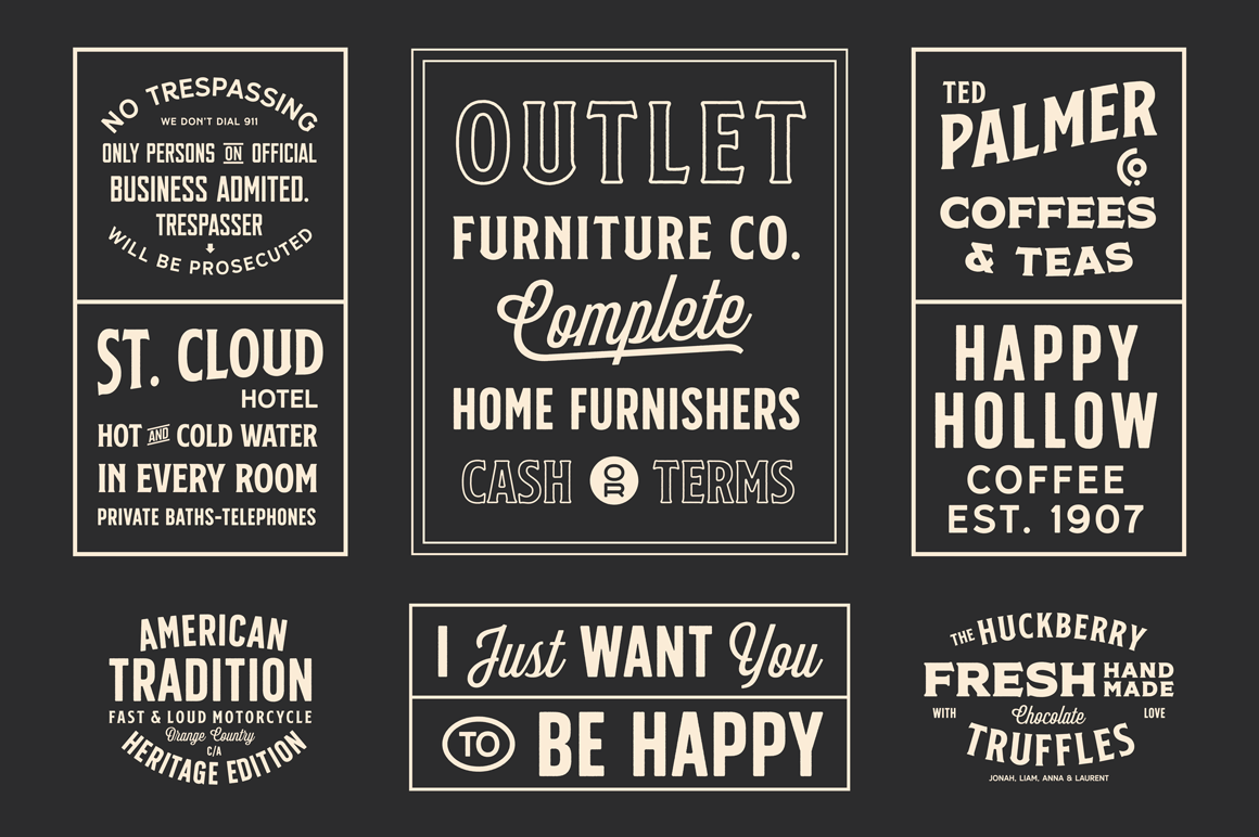 S&S Nickson Font Bundles  example image 4