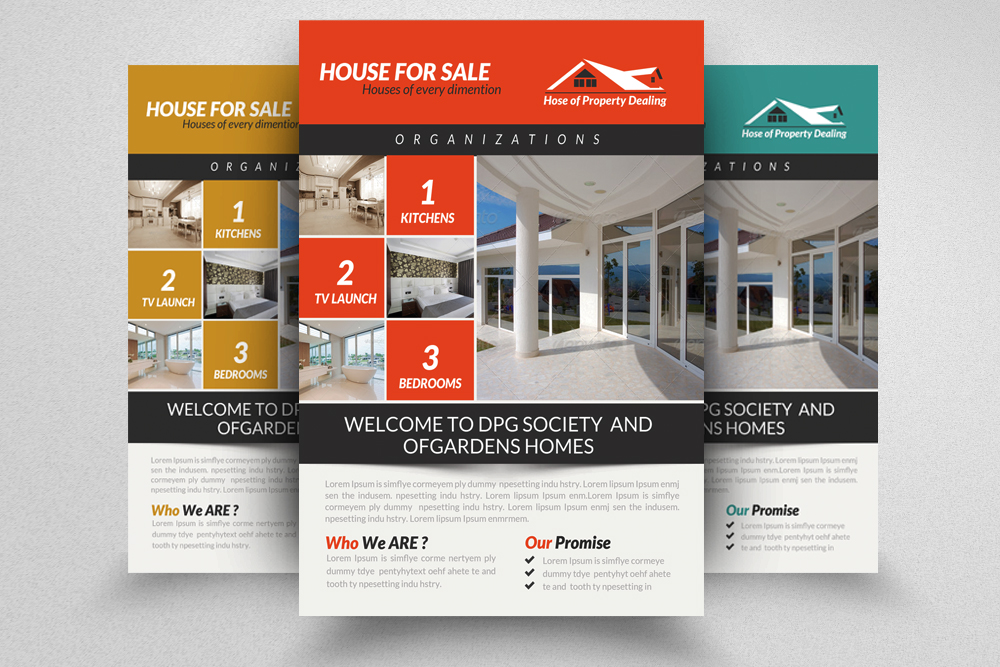 6 Real Estate Agency Flyers Bundle example image 5