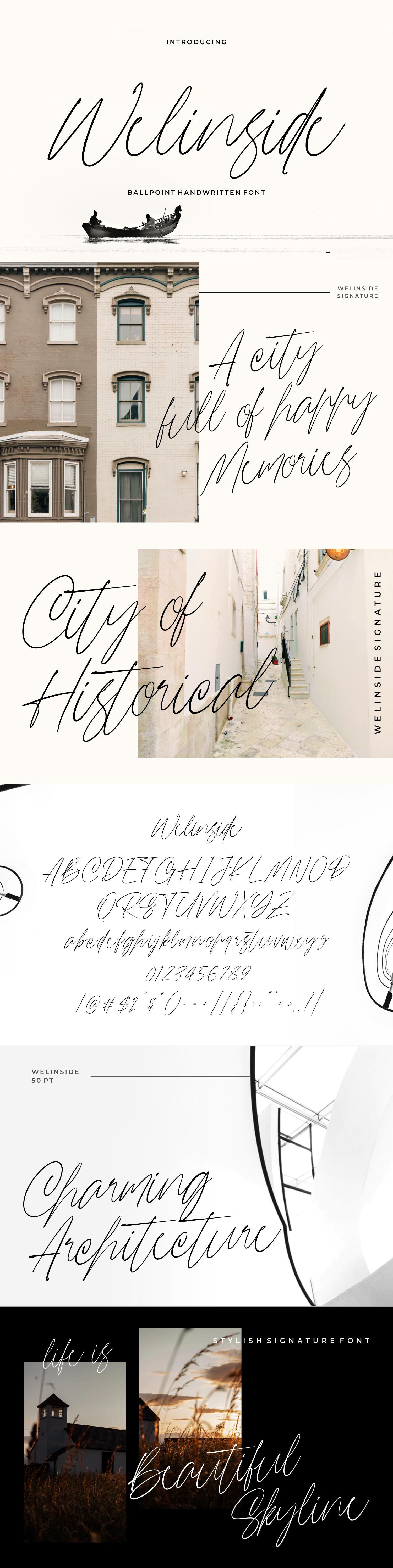 Wellinside - Handwritten Font example image 9