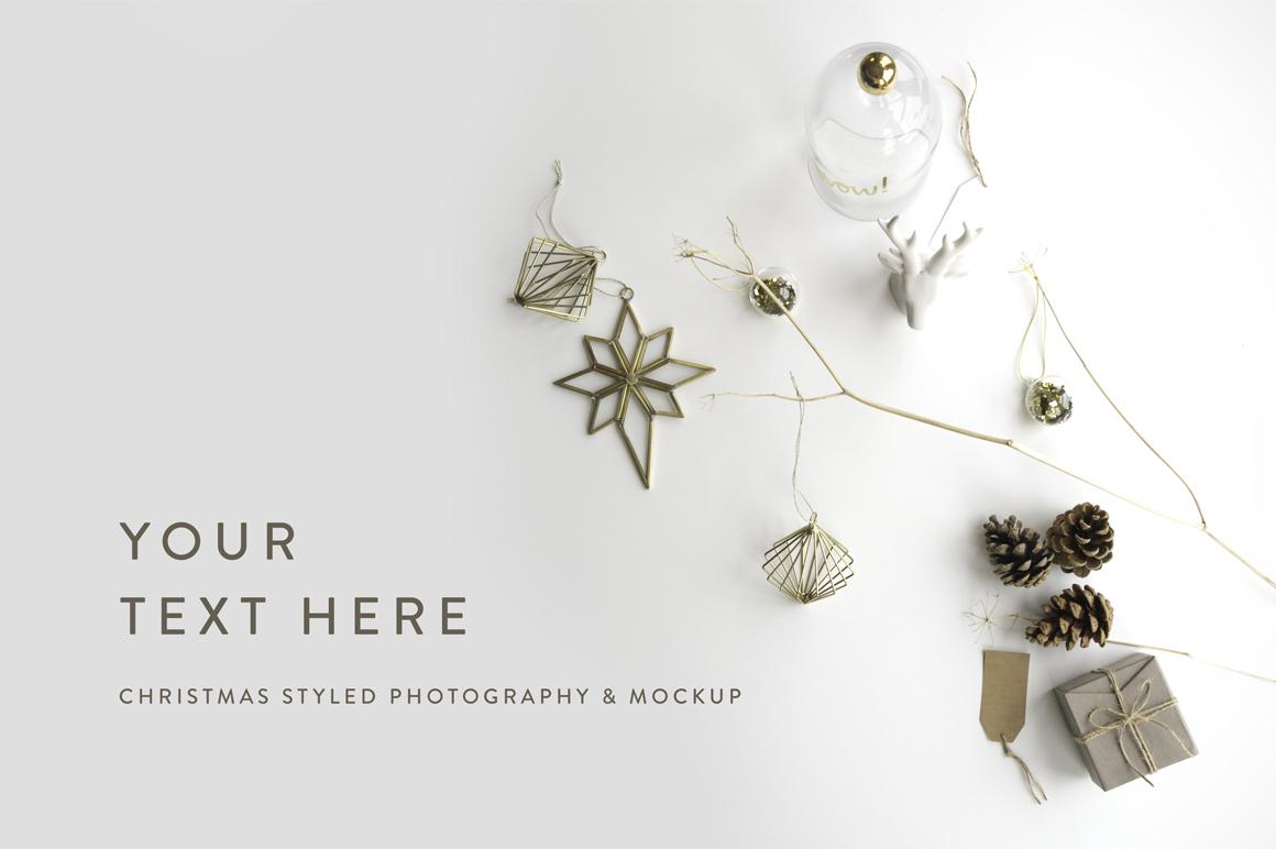 Christmas Styled Photo&Mockup #01 example image 3