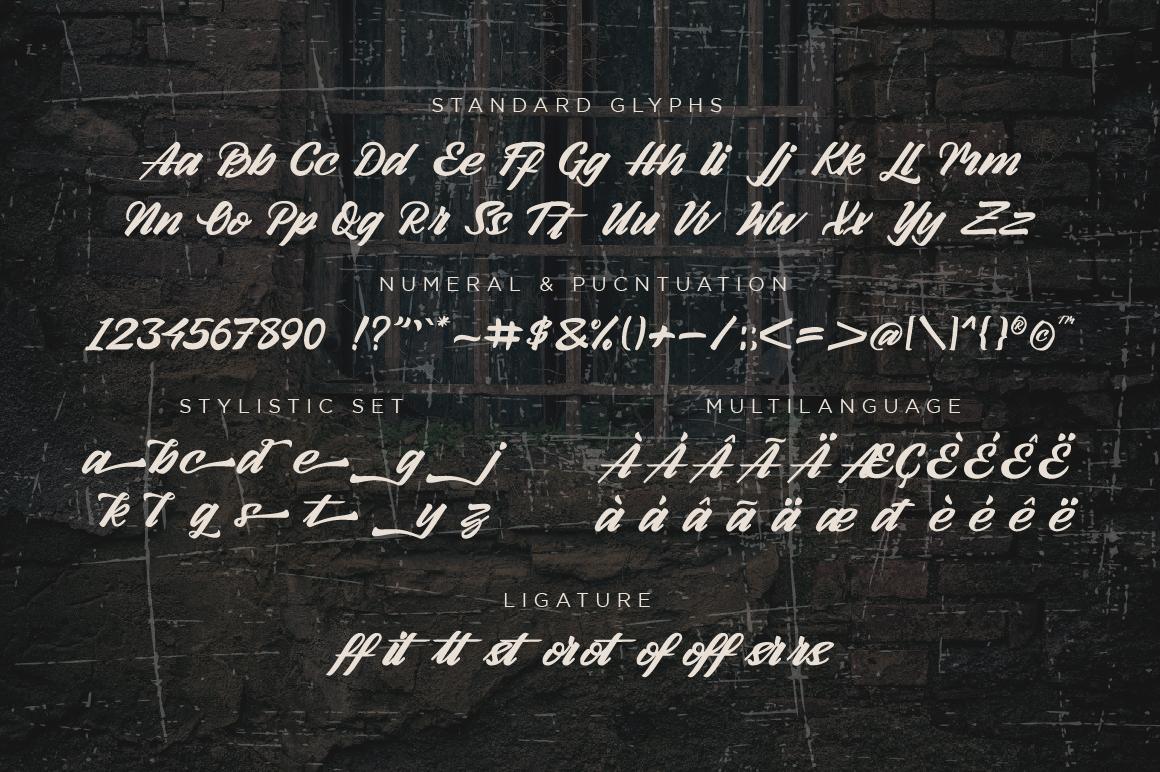 Arlen Script example image 2