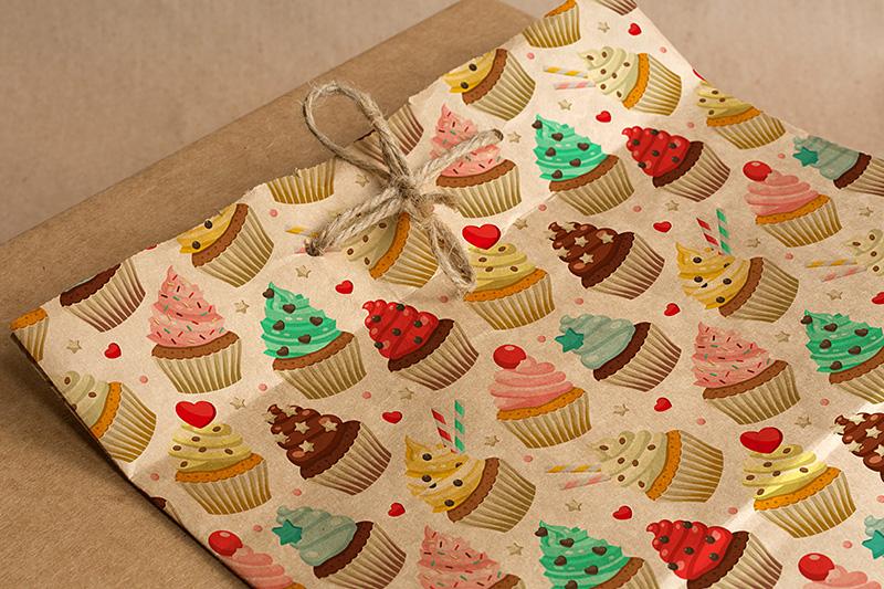 Cupcakes set & patterns example image 5