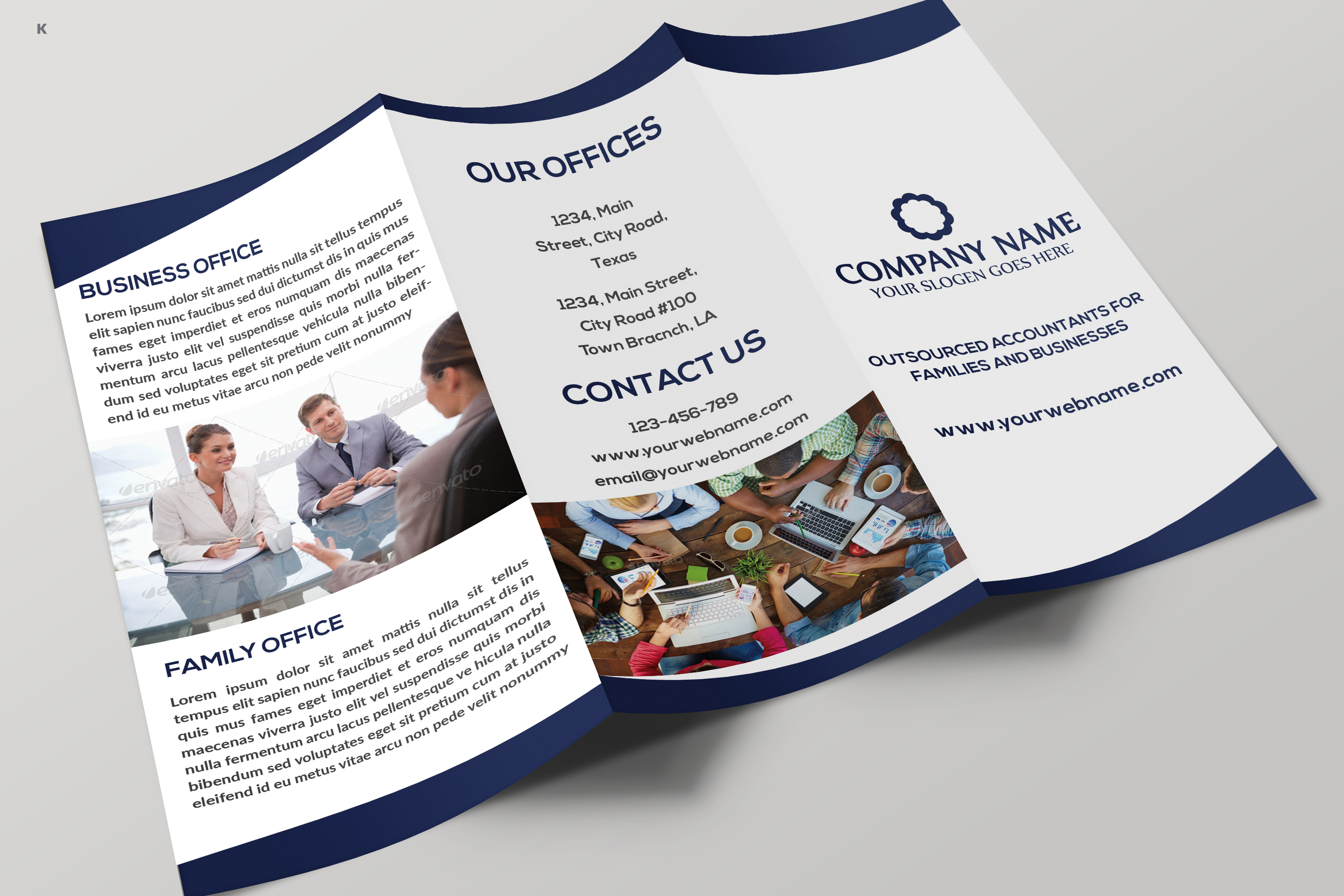 Business Trifold example image 7
