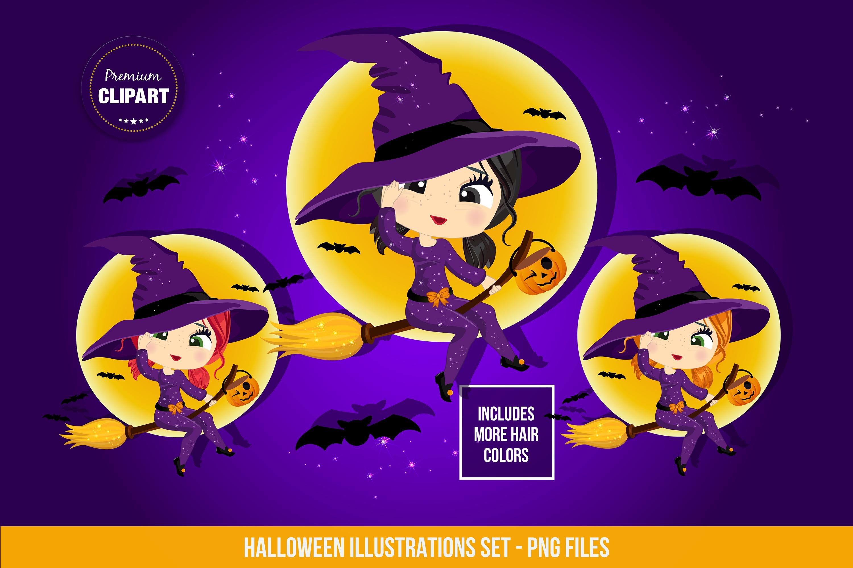 Halloween bundle, Halloween illustrations example image 16