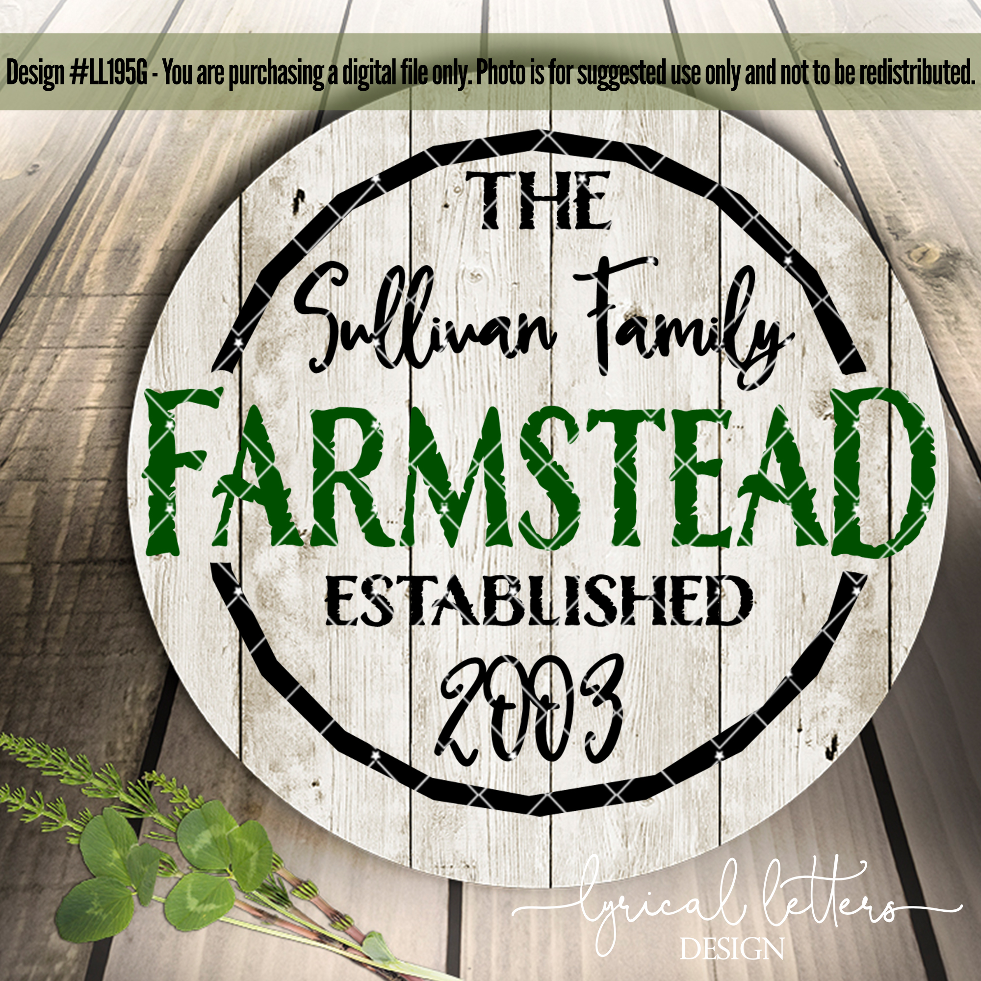 Farmhouse Bundle of 73 SVG DXF Cut File example image 6
