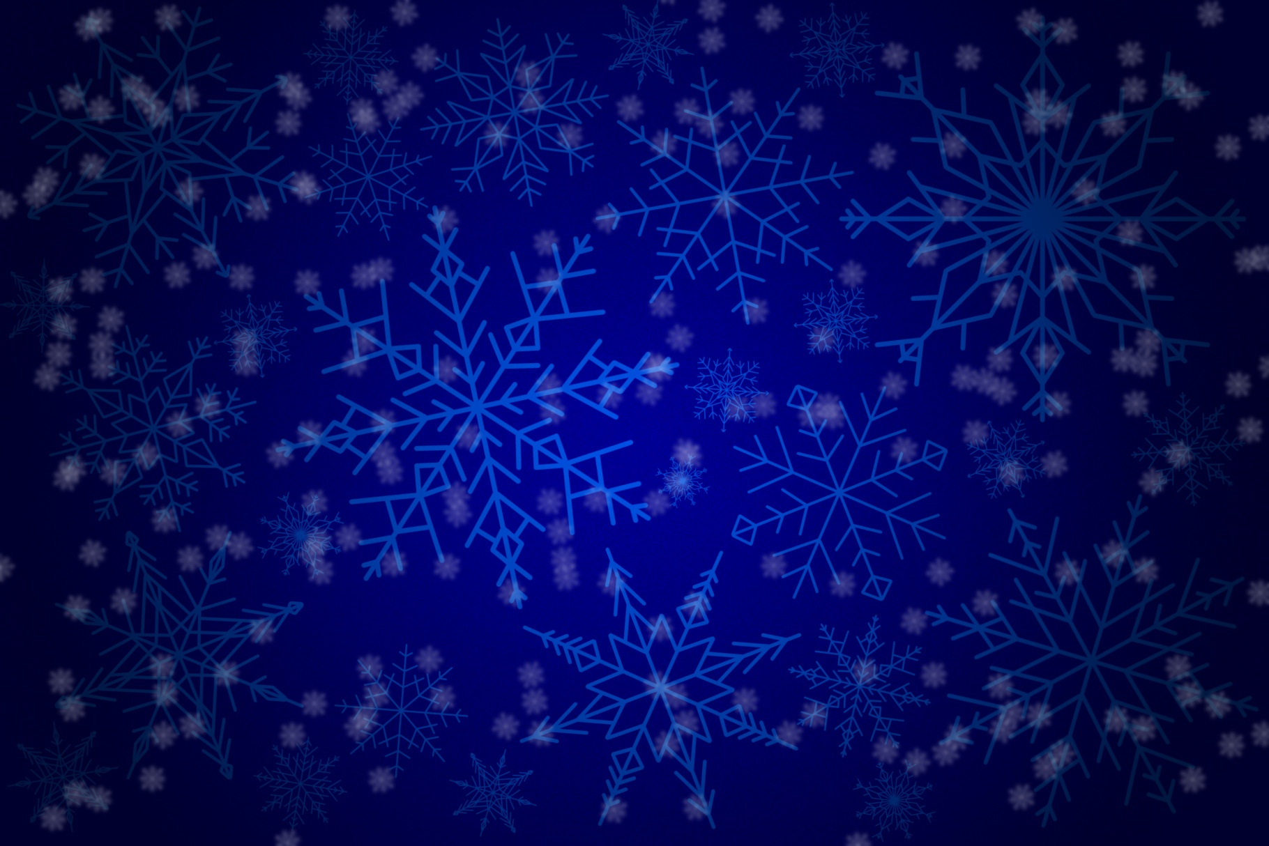 Snowflakes Brush Set - for Procreate example image 2