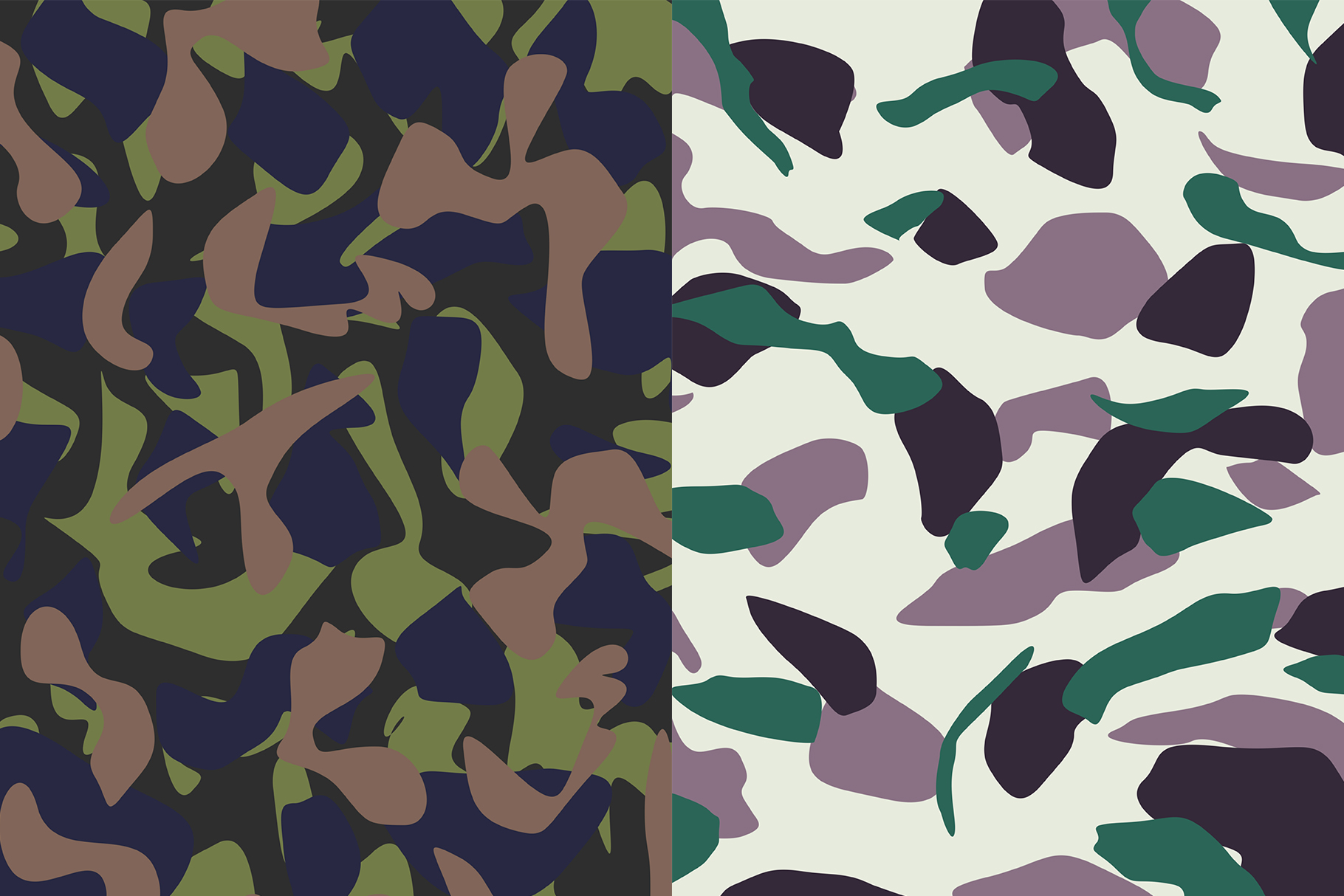 10 Army Camo Patterns Vol.2 example image 5