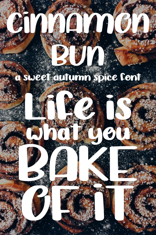 Cinnamon Bun - A sweet, handwritten font example image 2
