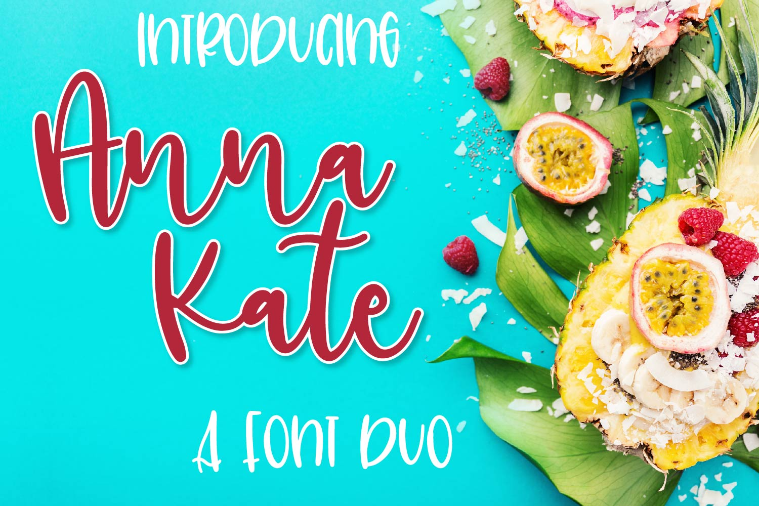 Anna Kate - Font Duo example image 1