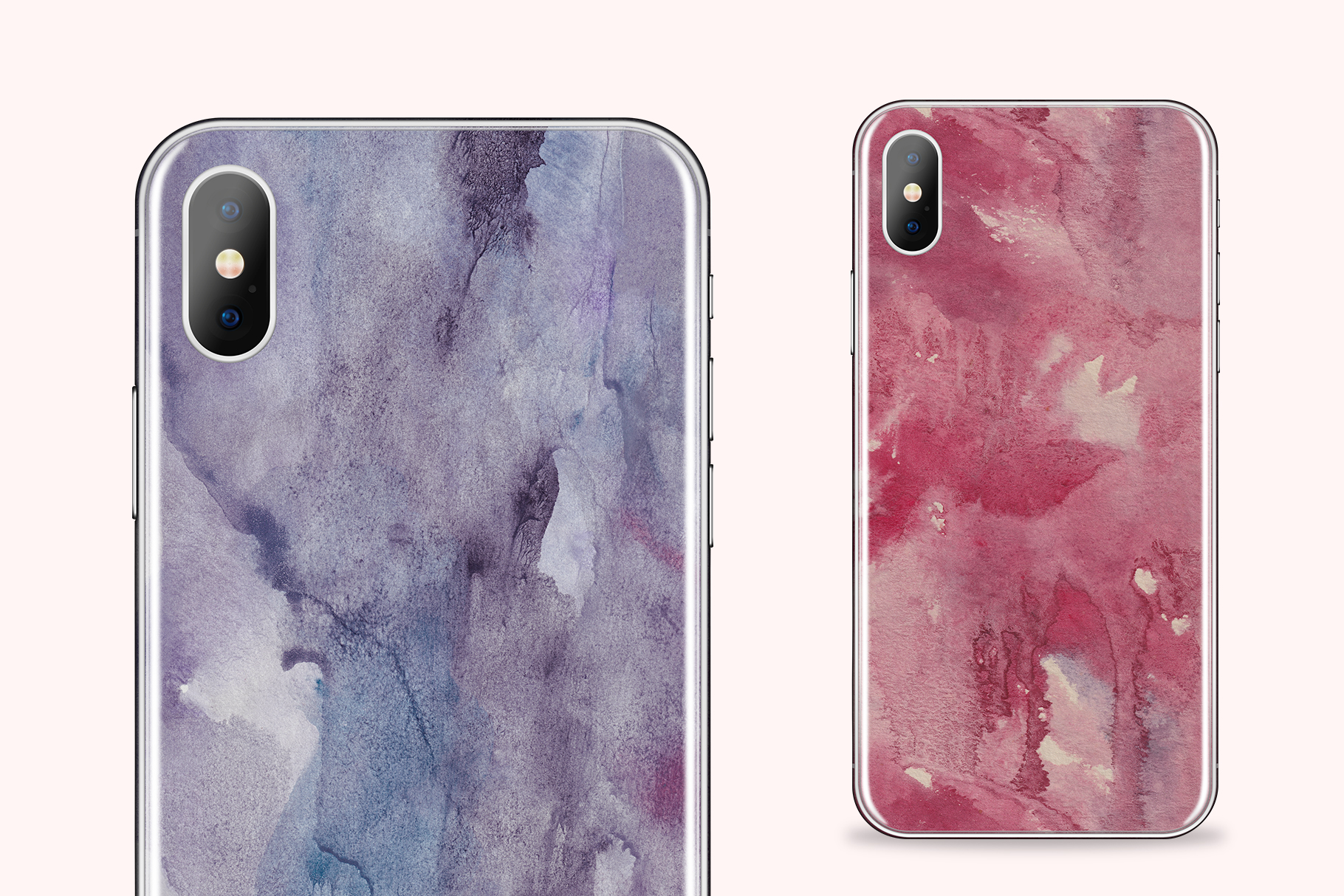 Seamless Watercolor Textures - 10 Watercolour Backgrounds example image 12