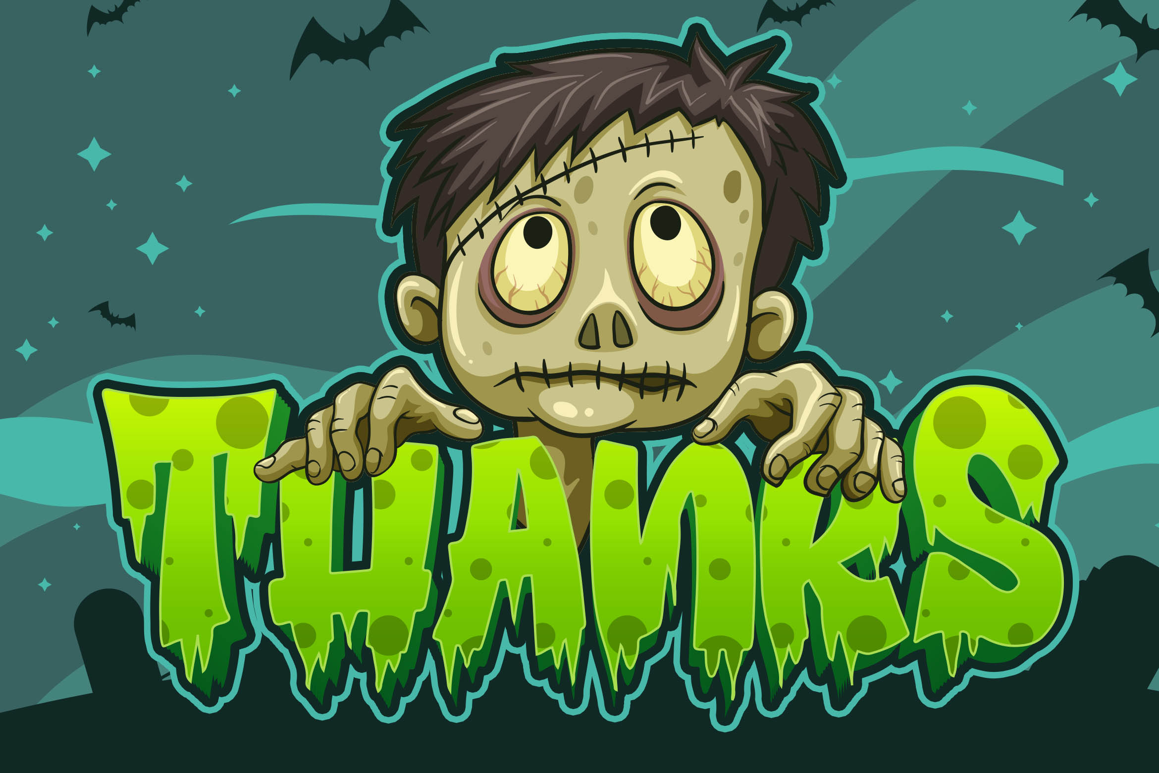Dark Graves- a Horror Font example image 8