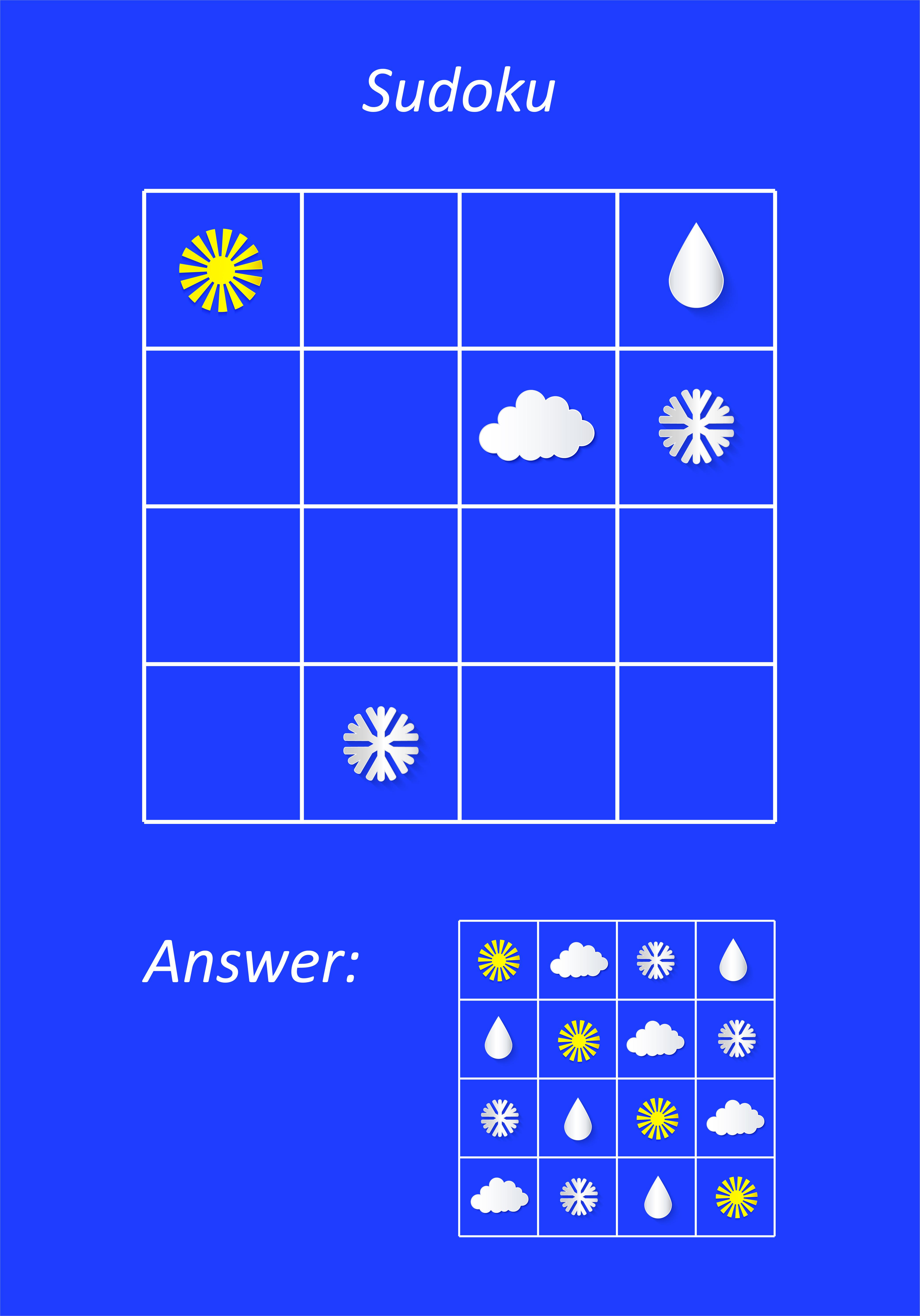 Easy preschool educational brainteasers set example image 7