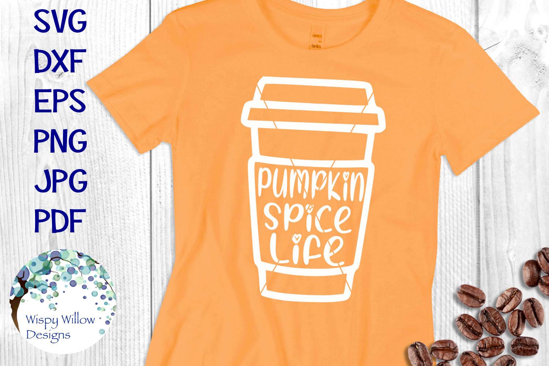 Pumpkin Spice Mini SVG Bundle | Fall Coffee Latte SVG Bundle example image 4