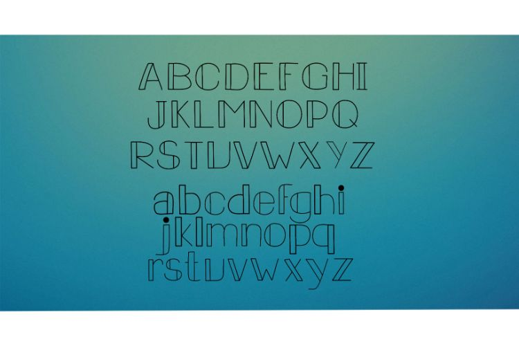 Carousel Lights Font Family, Three Fun Fonts example image 3