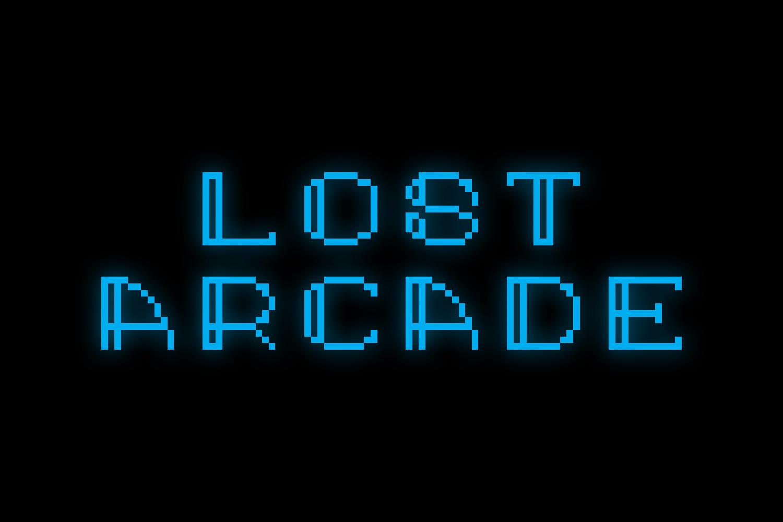 Lost Arcade Sans Adorn example image 1