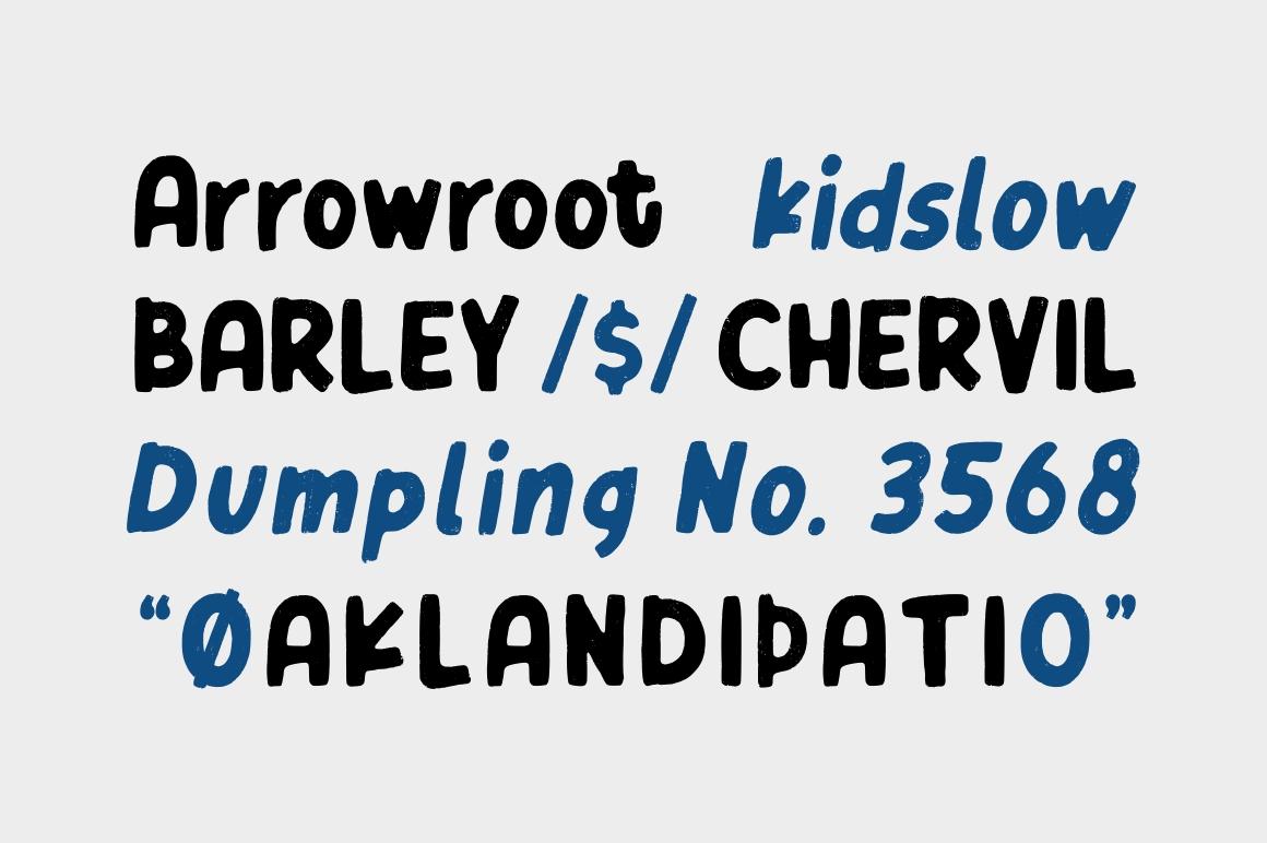 Cordon - Textured Font example image 5