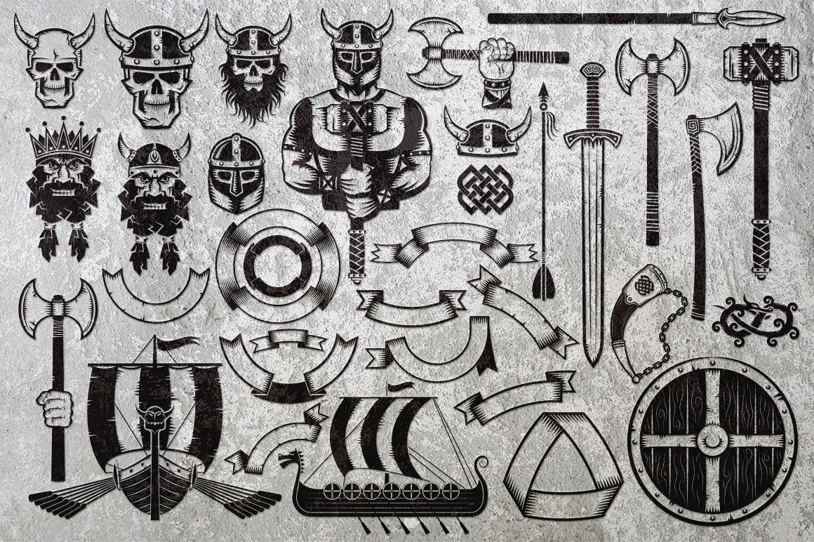 Vikings Bundle example image 4