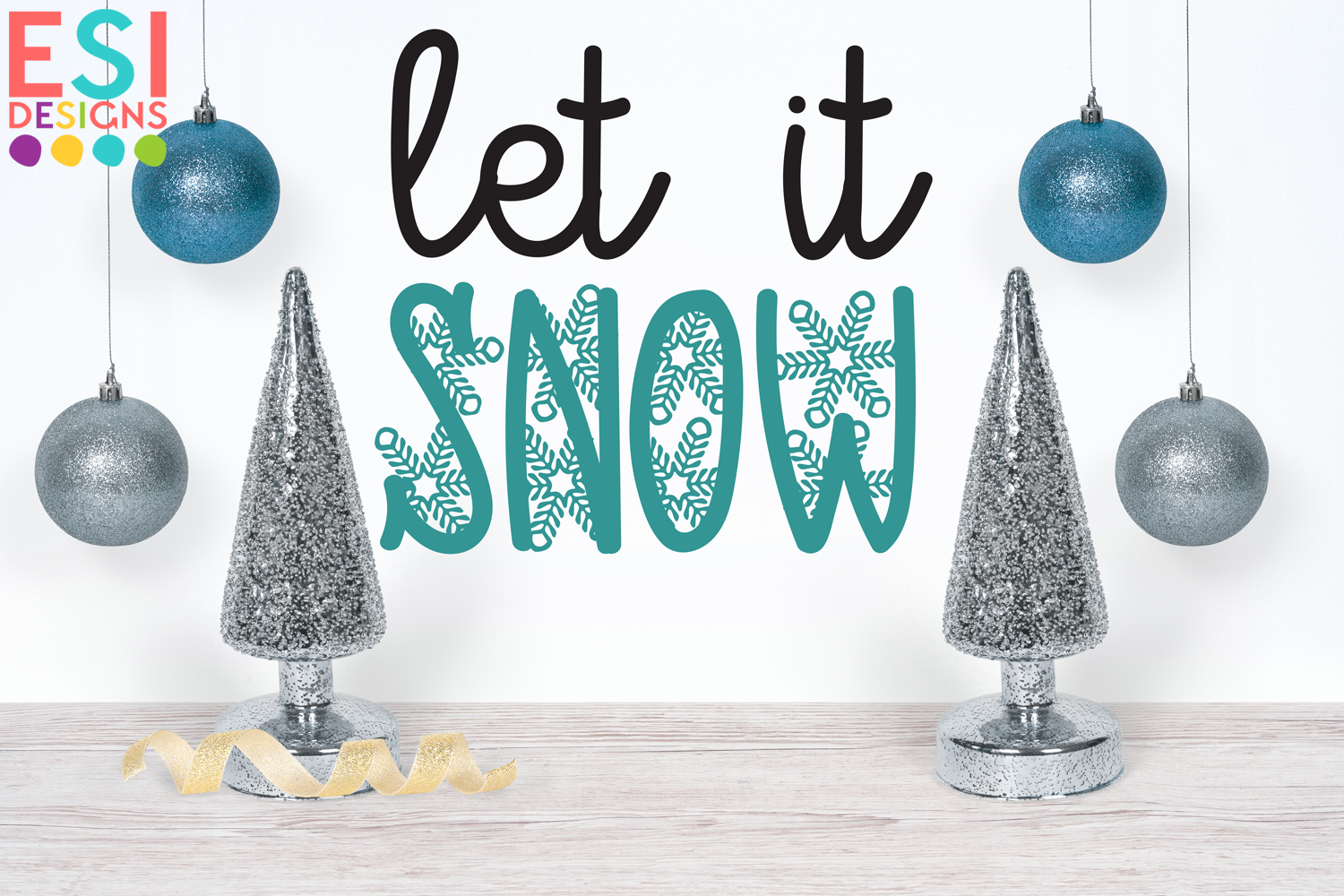 Snowflake Dreams | A Wintery Christmas Font example image 2
