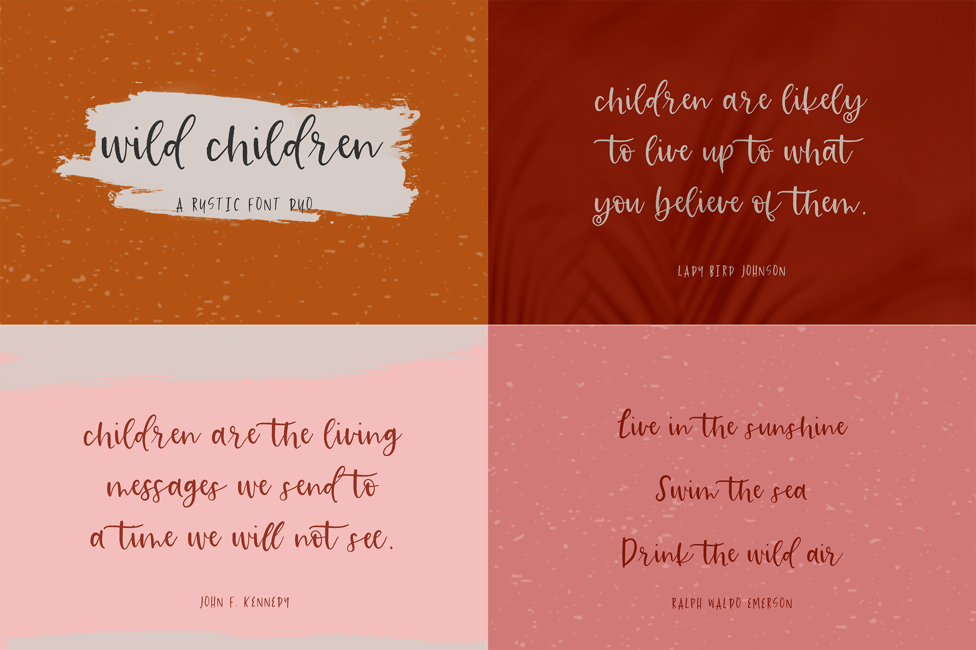 The Brush Font Bundle example image 6