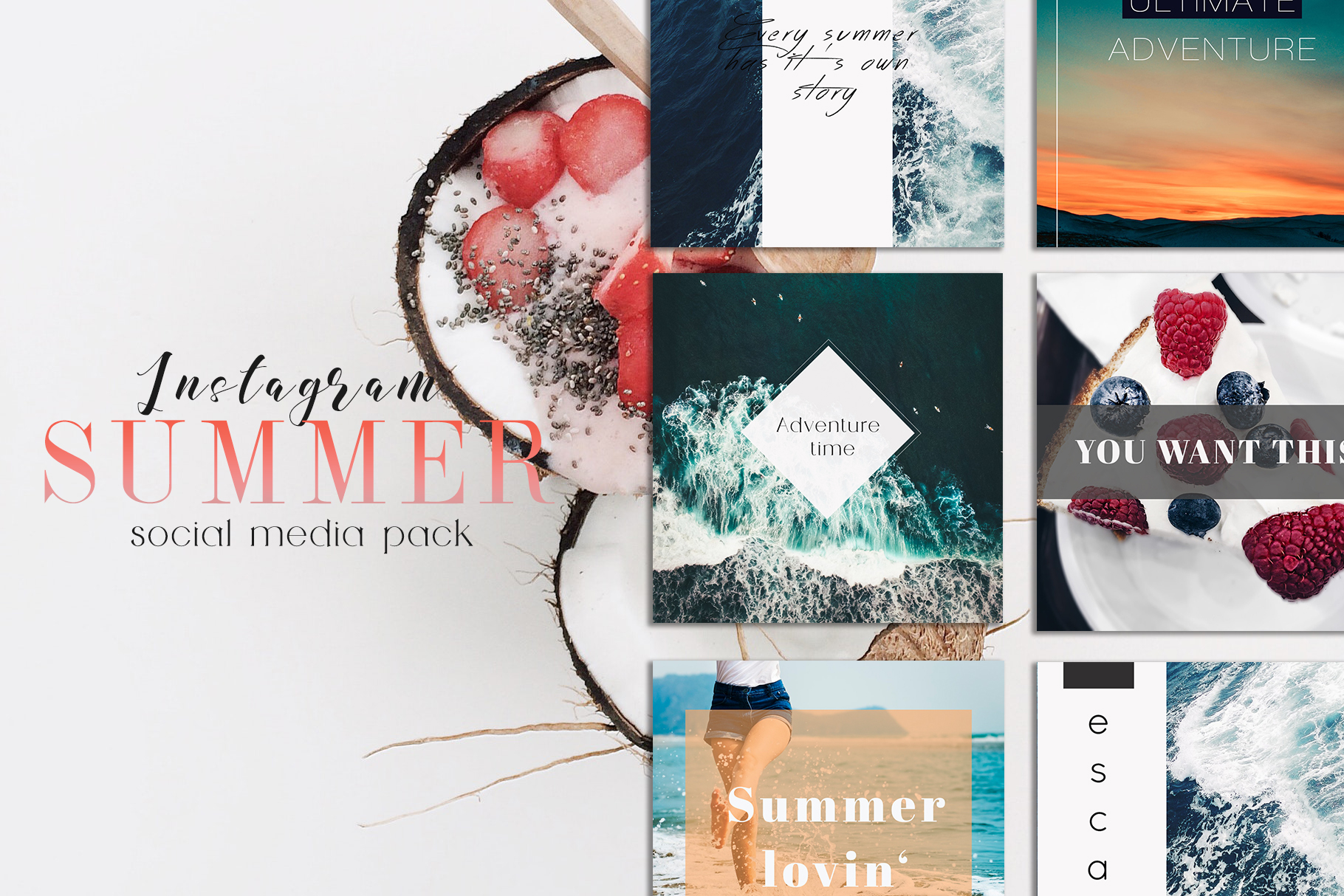Sweet Summer Instagram Pack example image 1