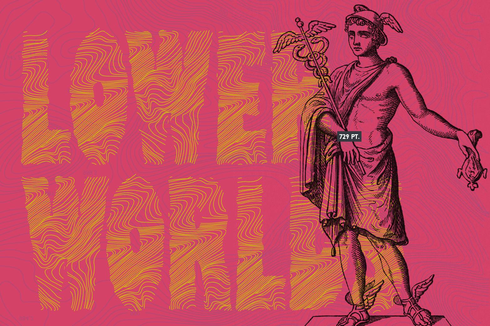 Mercurio Font example image 8