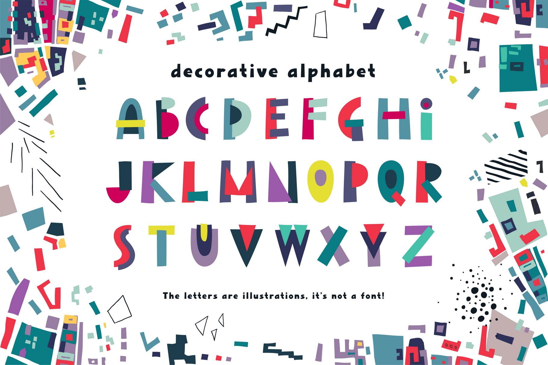 Urban Puzzle - Patterns & Alphabet example image 3