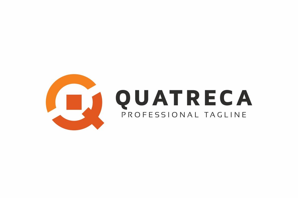 Quatreca Q Letter Logo example image 3