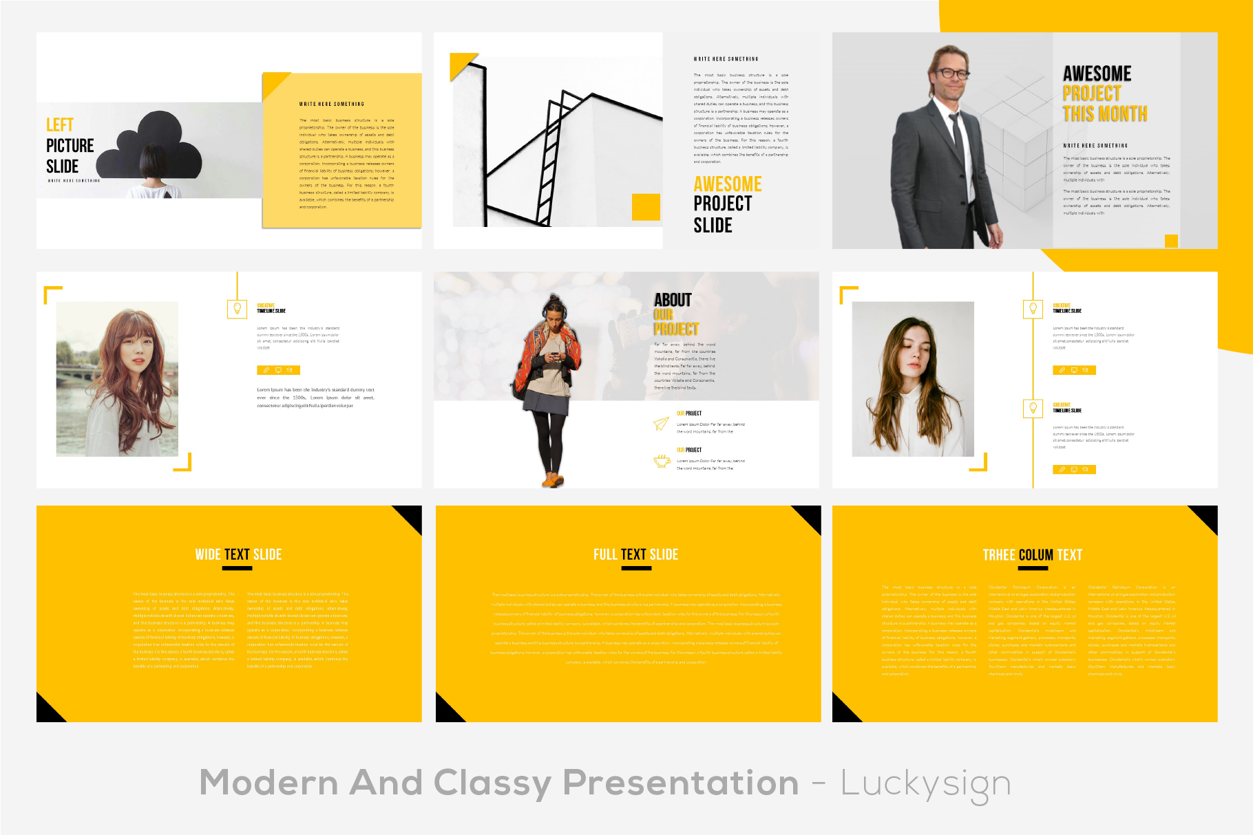 Yourbae Powerpoint Template example image 4