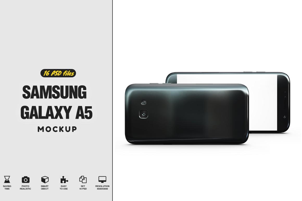 Samsung Galaxy A5 Mockup example image 1