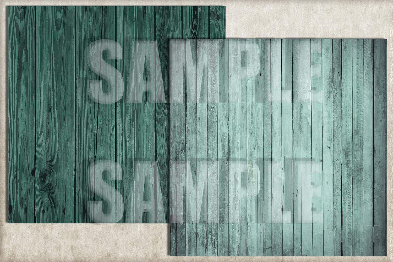Turquoise Wood Digital Paper, Digital Background example image 2