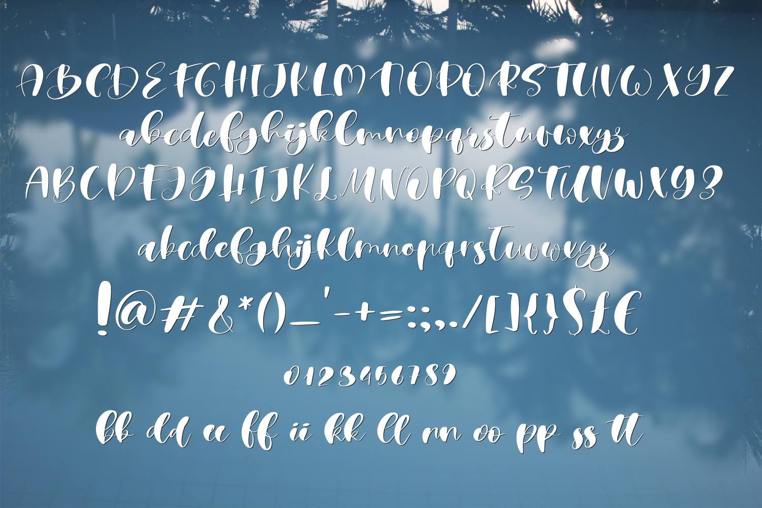 Albufeira Font Duo & Doodles example image 7