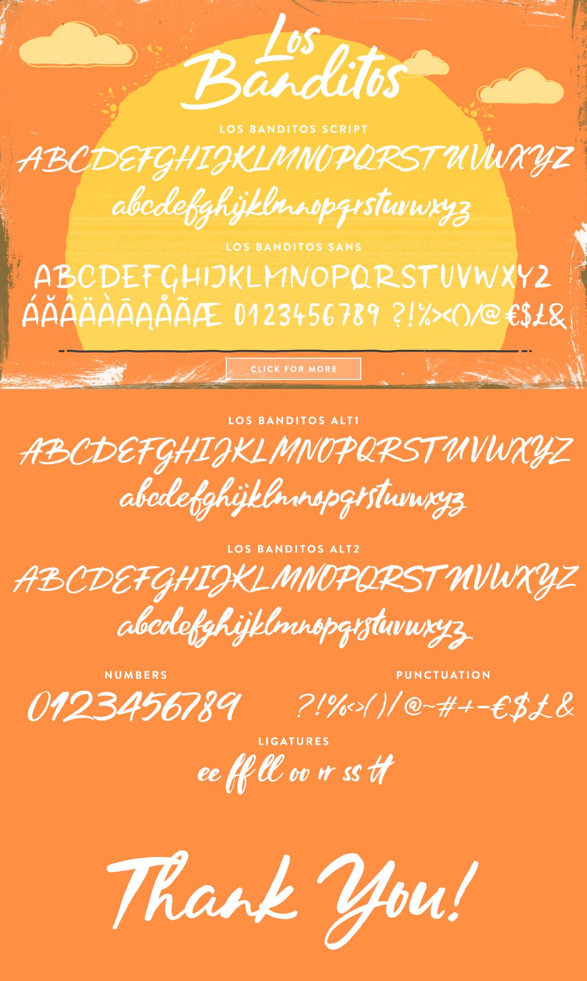 Los Banditos Font Duo example image 12