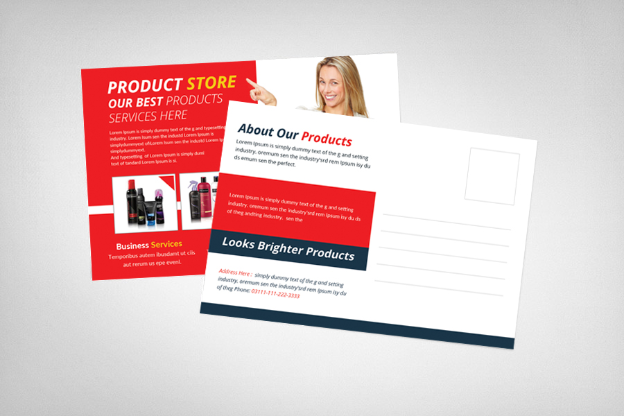 Product Promotion Postcard example image 2