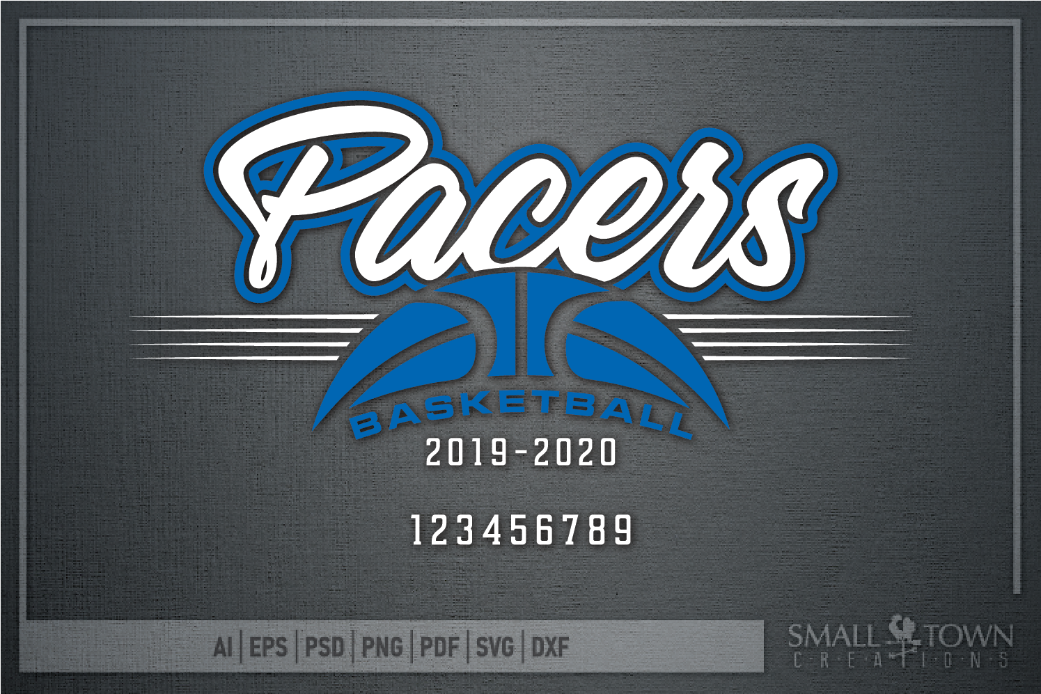 Pacer, Pacer Basketball, Sports, Design, PRINT, CUT, DESIGN example image 5
