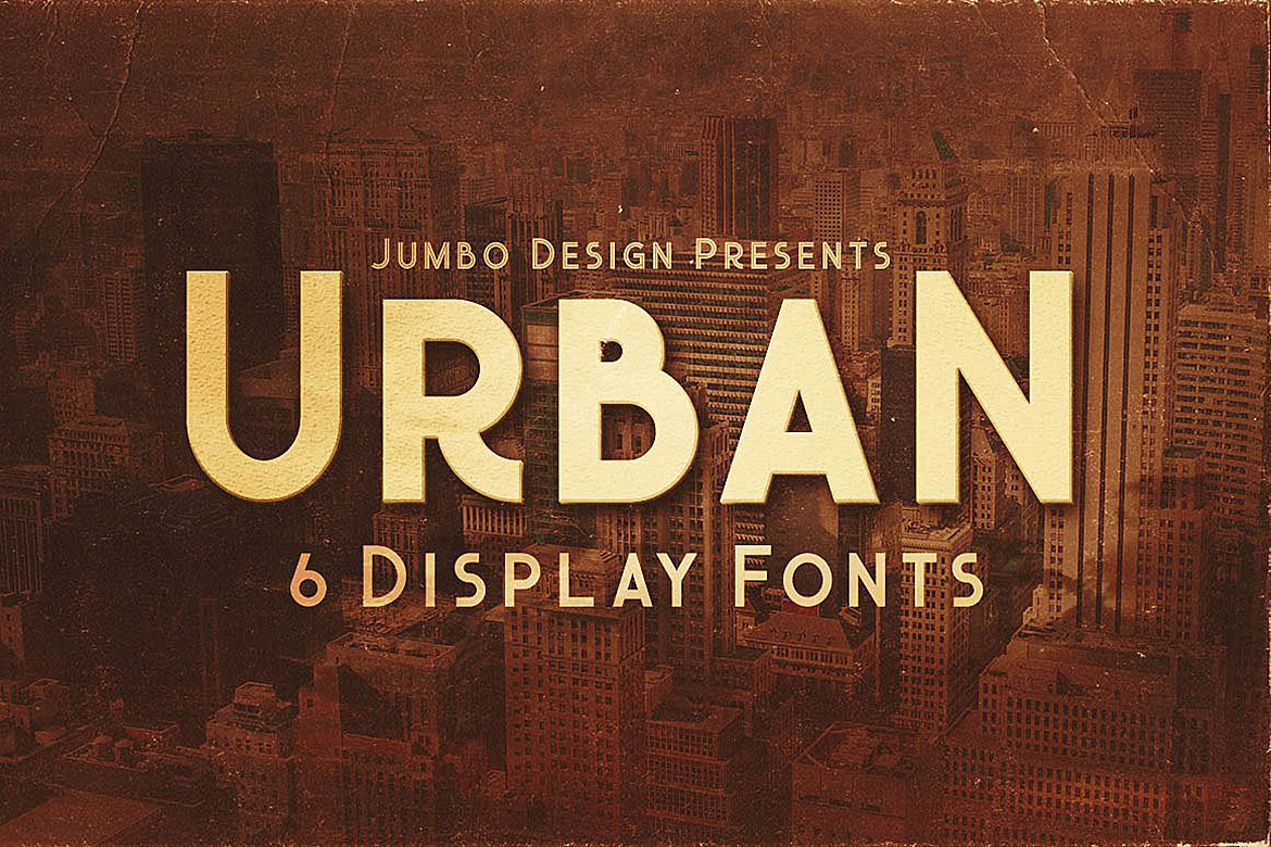 Urban - Display Style Font example image 1